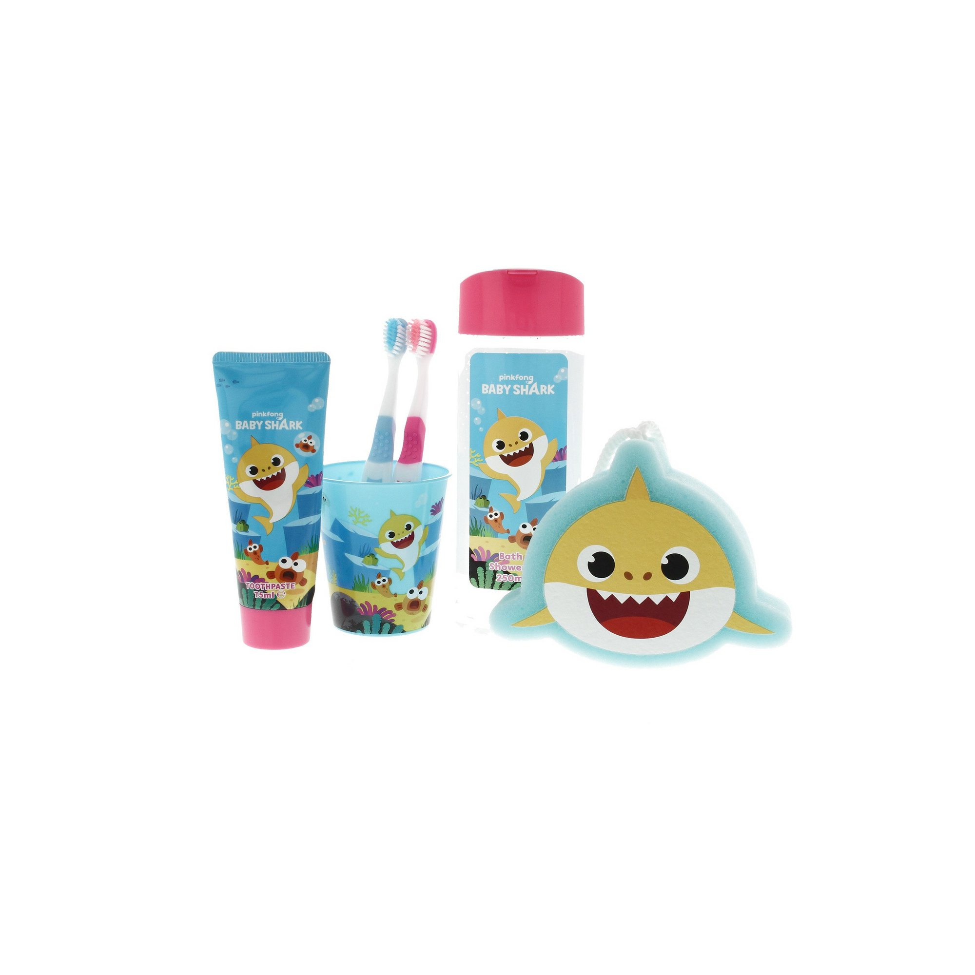 Image of Baby Shark Bed Time Set