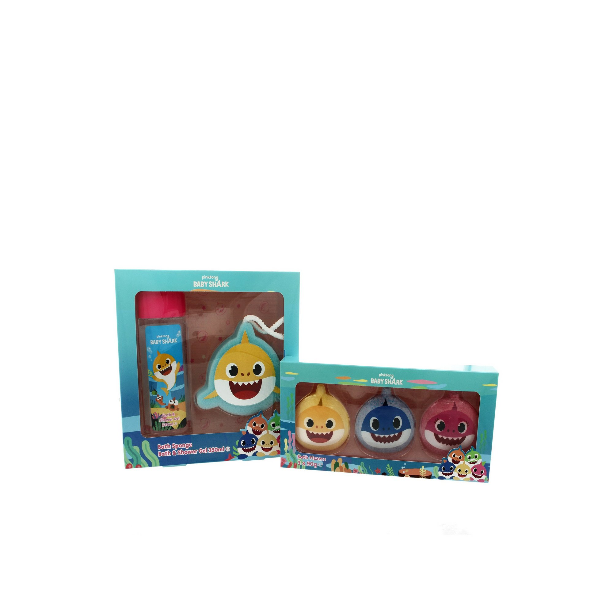 Image of Baby Shark Bubble Bath and Fizzer Set