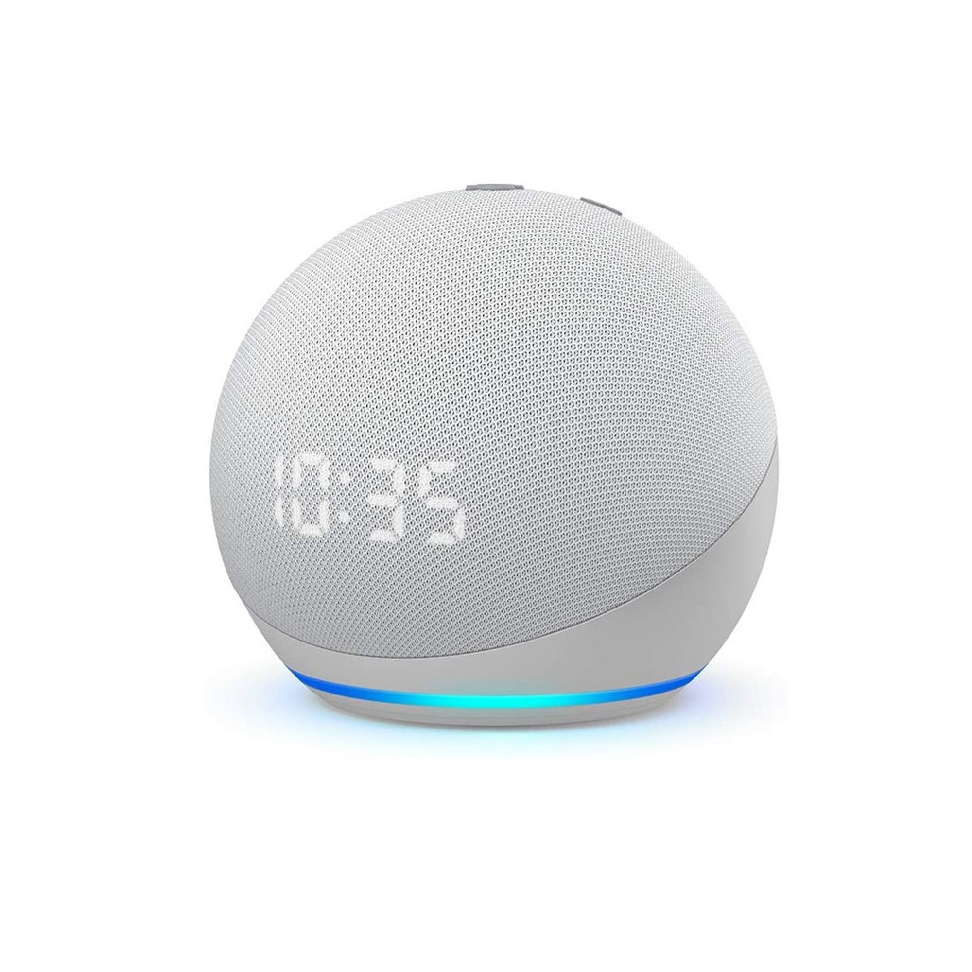 Image of Amazon All-new Echo Dot (4th generation) Smart Speaker with Clock...