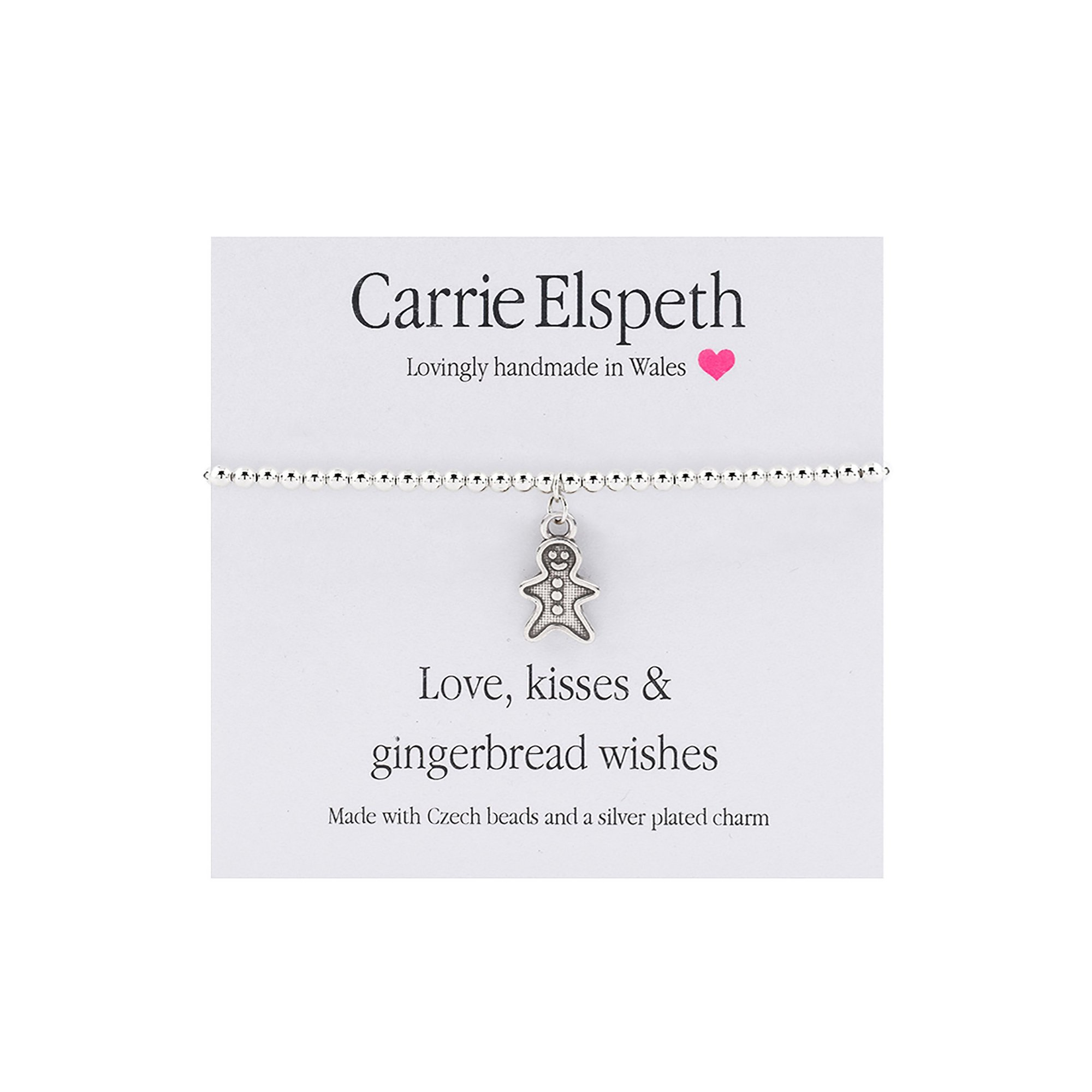 Image of Carrie Elspeth Love&#44 Kisses and Gingerbread Wishes Sentiment B...