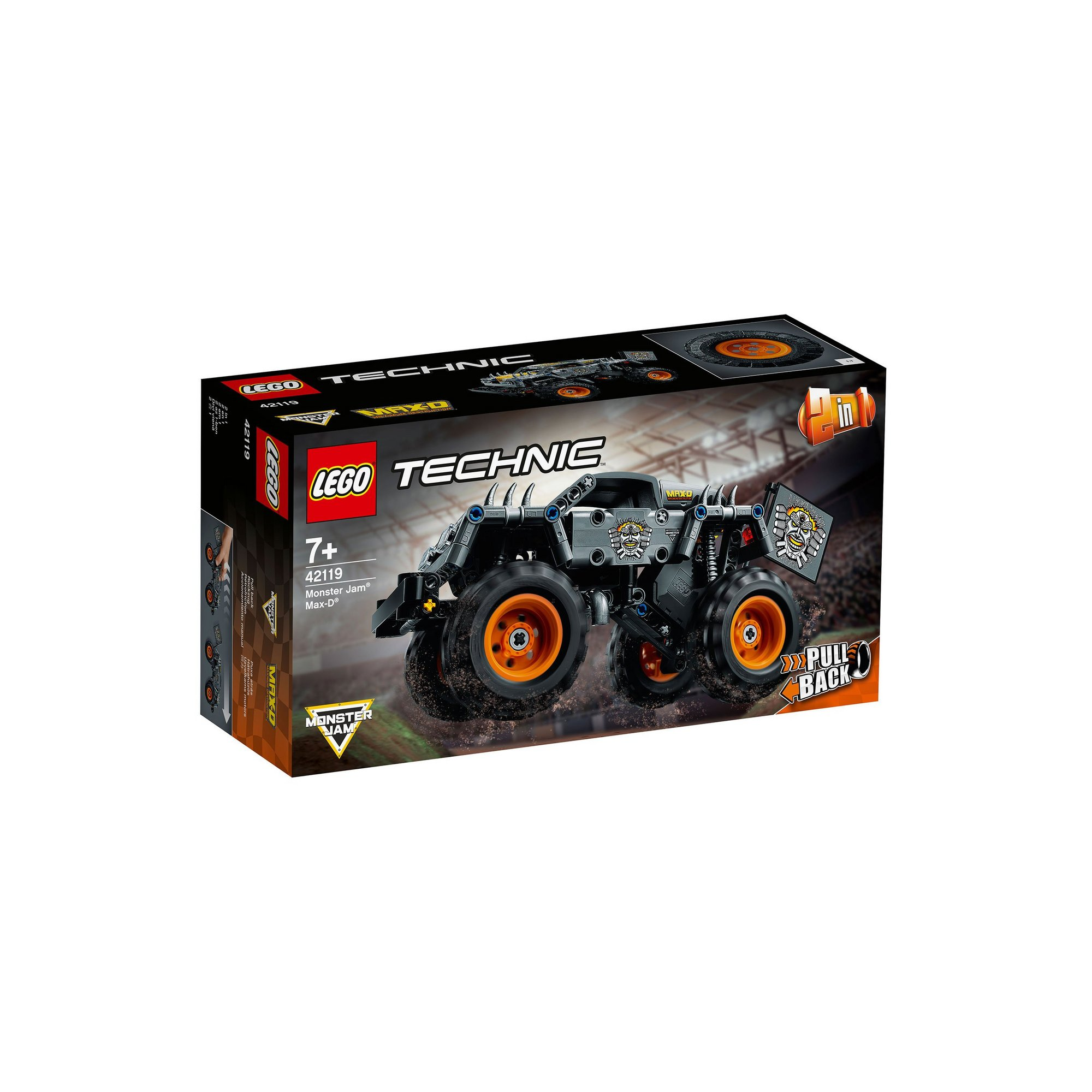 Image of LEGO Technic Monster Jam Max-D