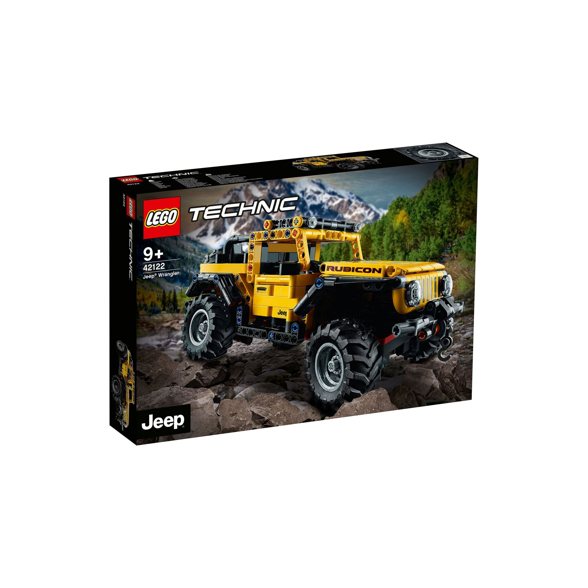 Image of LEGO Technic Jeep Wrangler