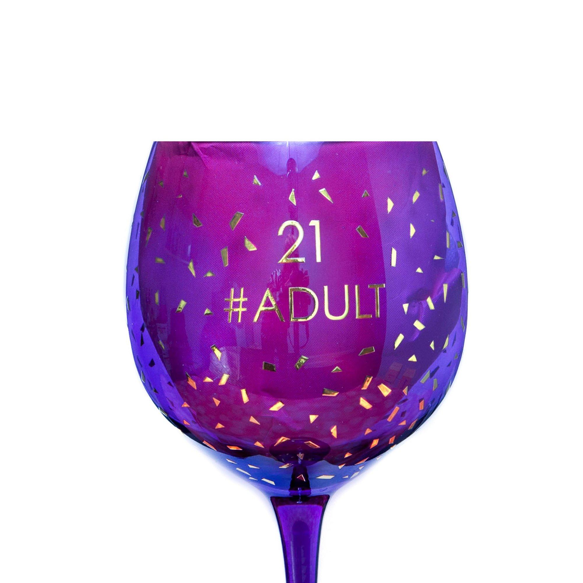 Image of 21st Opulent Wine Glass