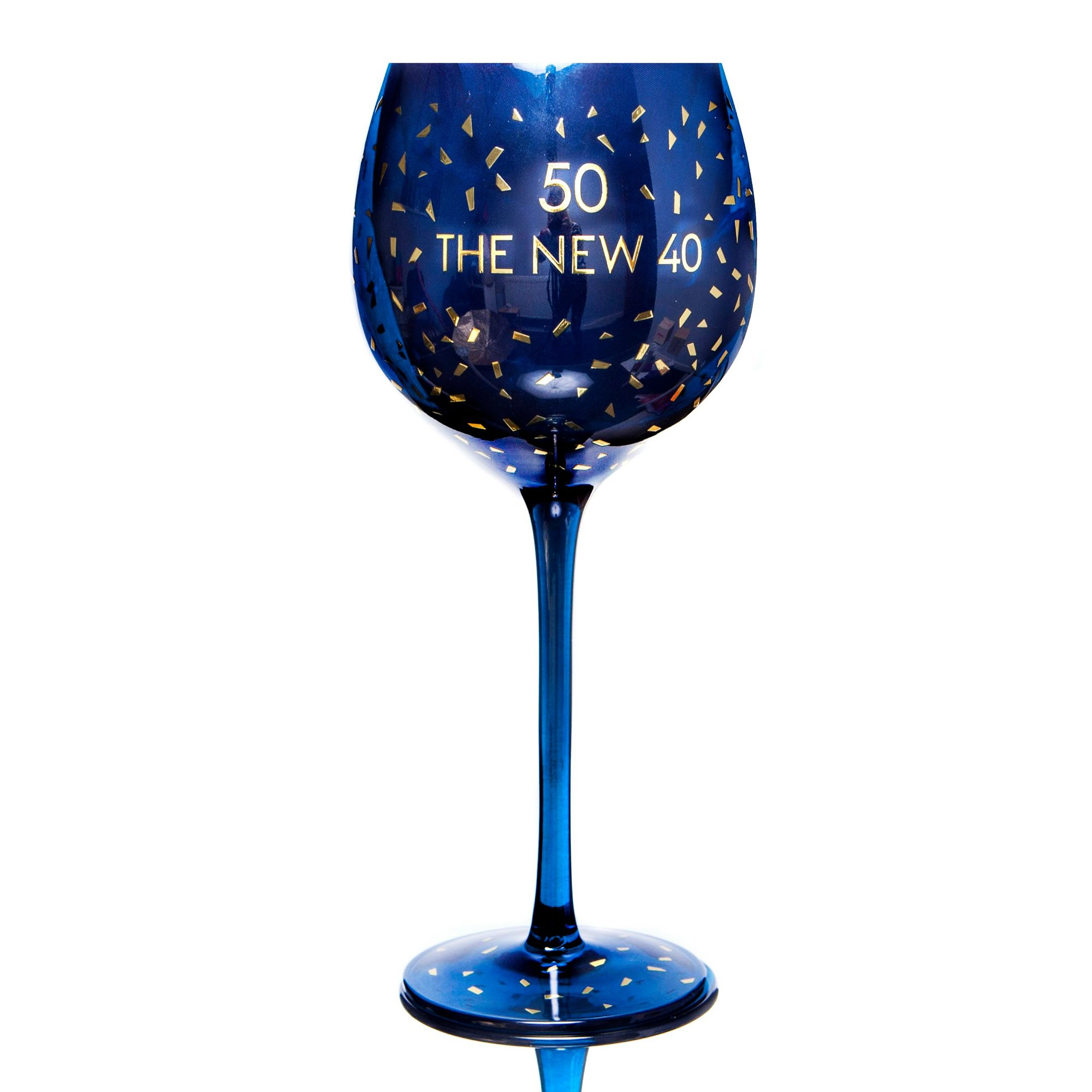 Image of 50th Opulent Wine Glass