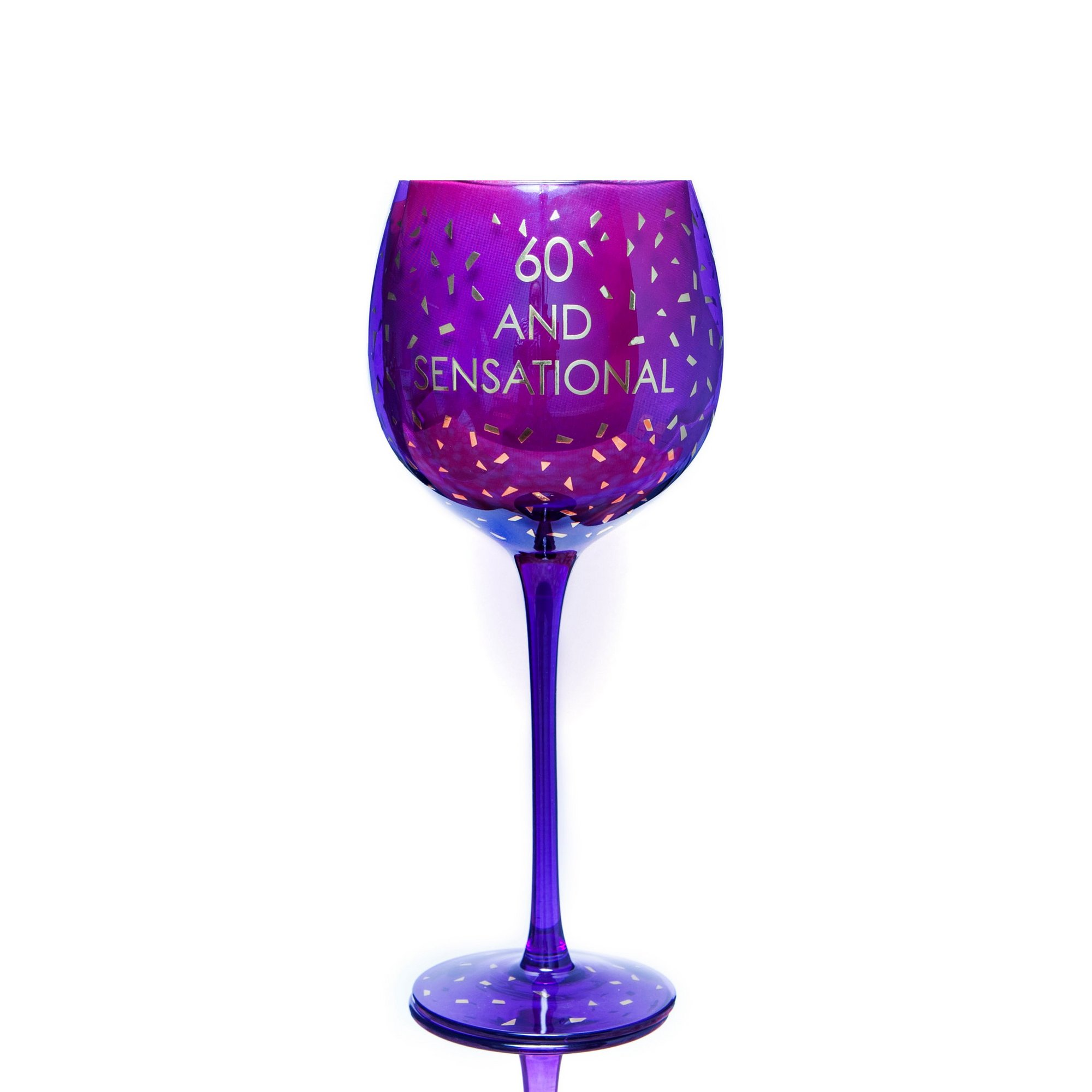 Image of 60th Opulent Wine Glass