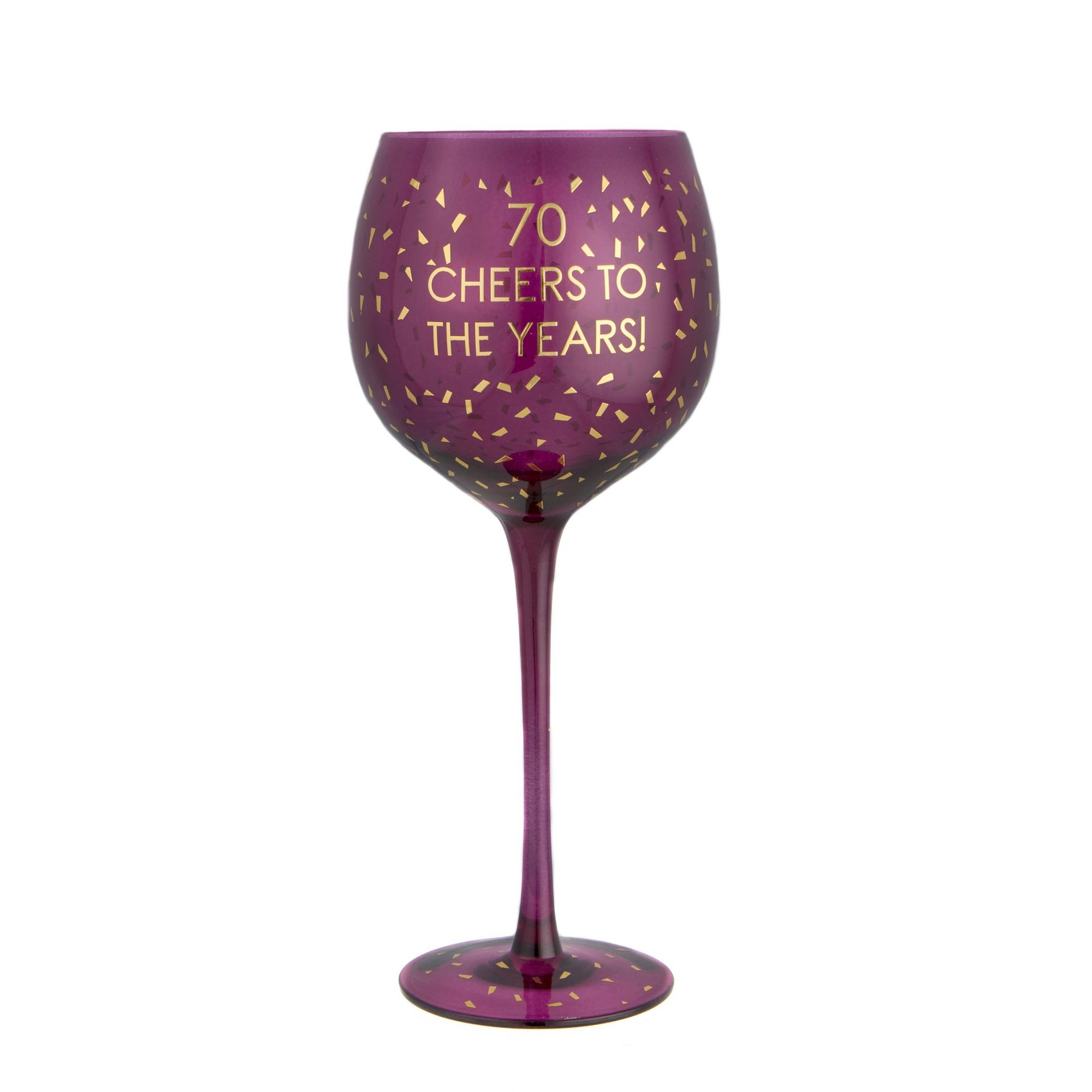 Image of 70th Opulent Wine Glass