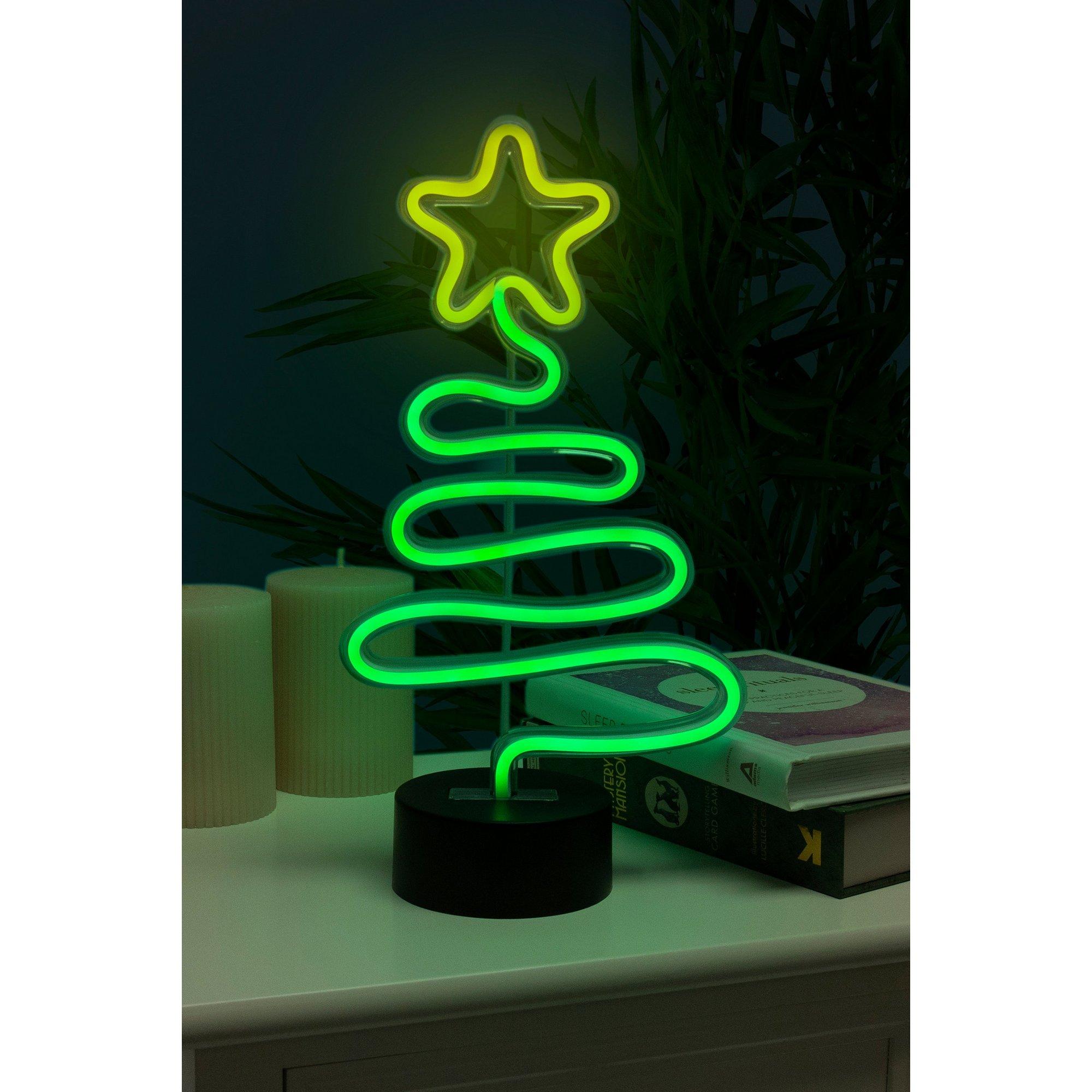 Image of Christmas Tree Neon Lamp