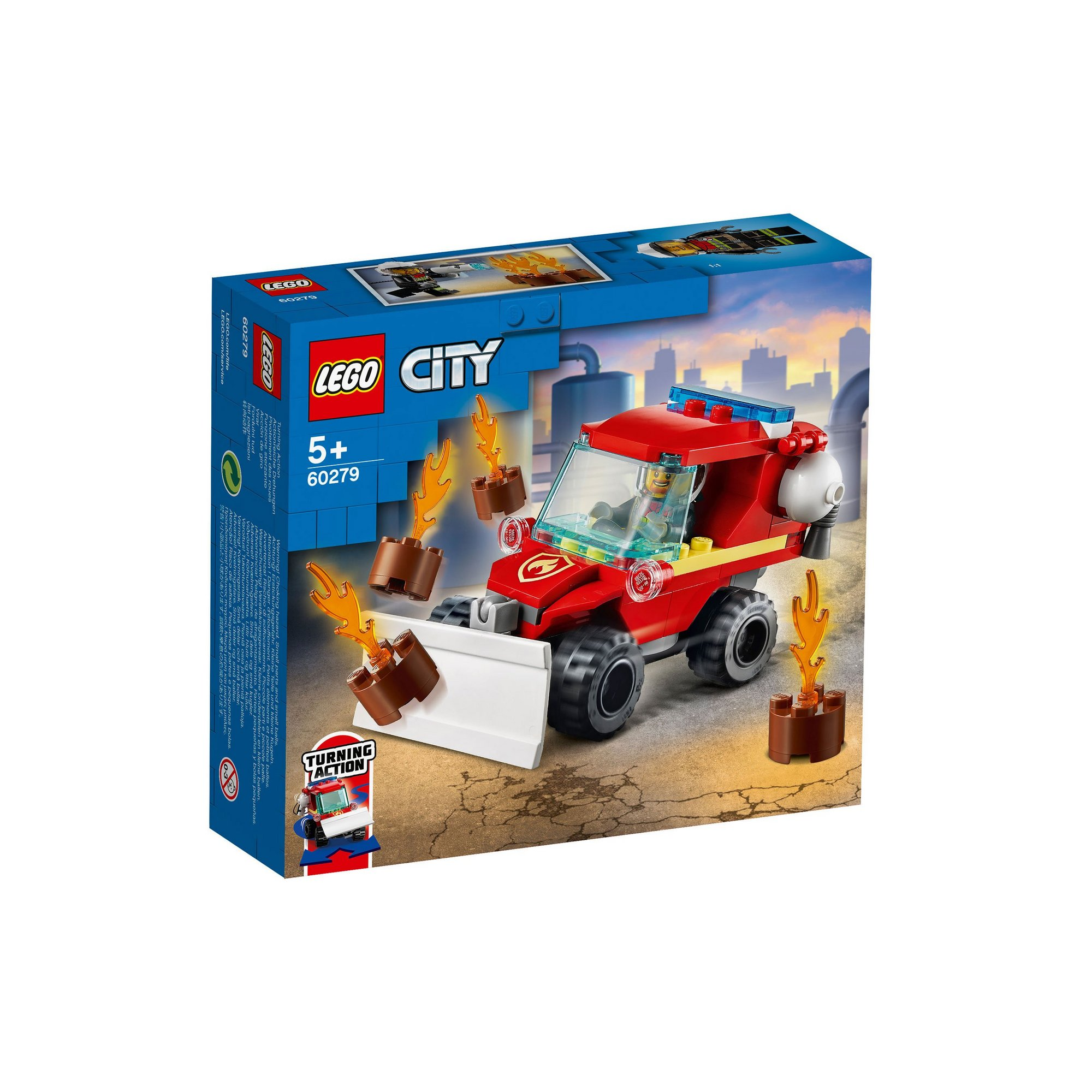 Image of LEGO City Fire Hazard Truck