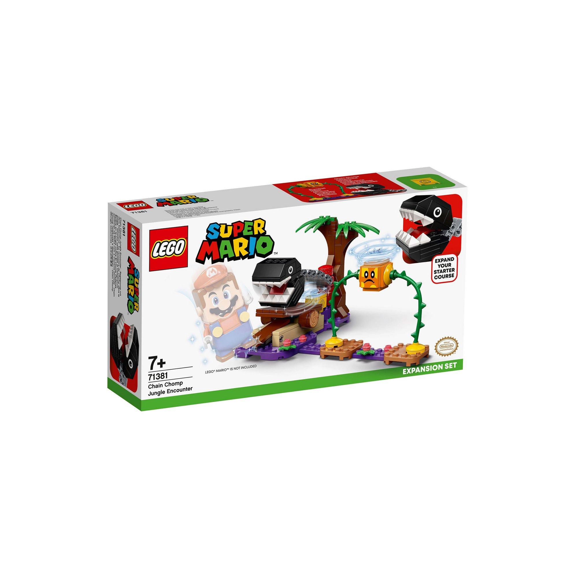 Image of LEGO Super Mario Chain Chomp Jungle Encounter