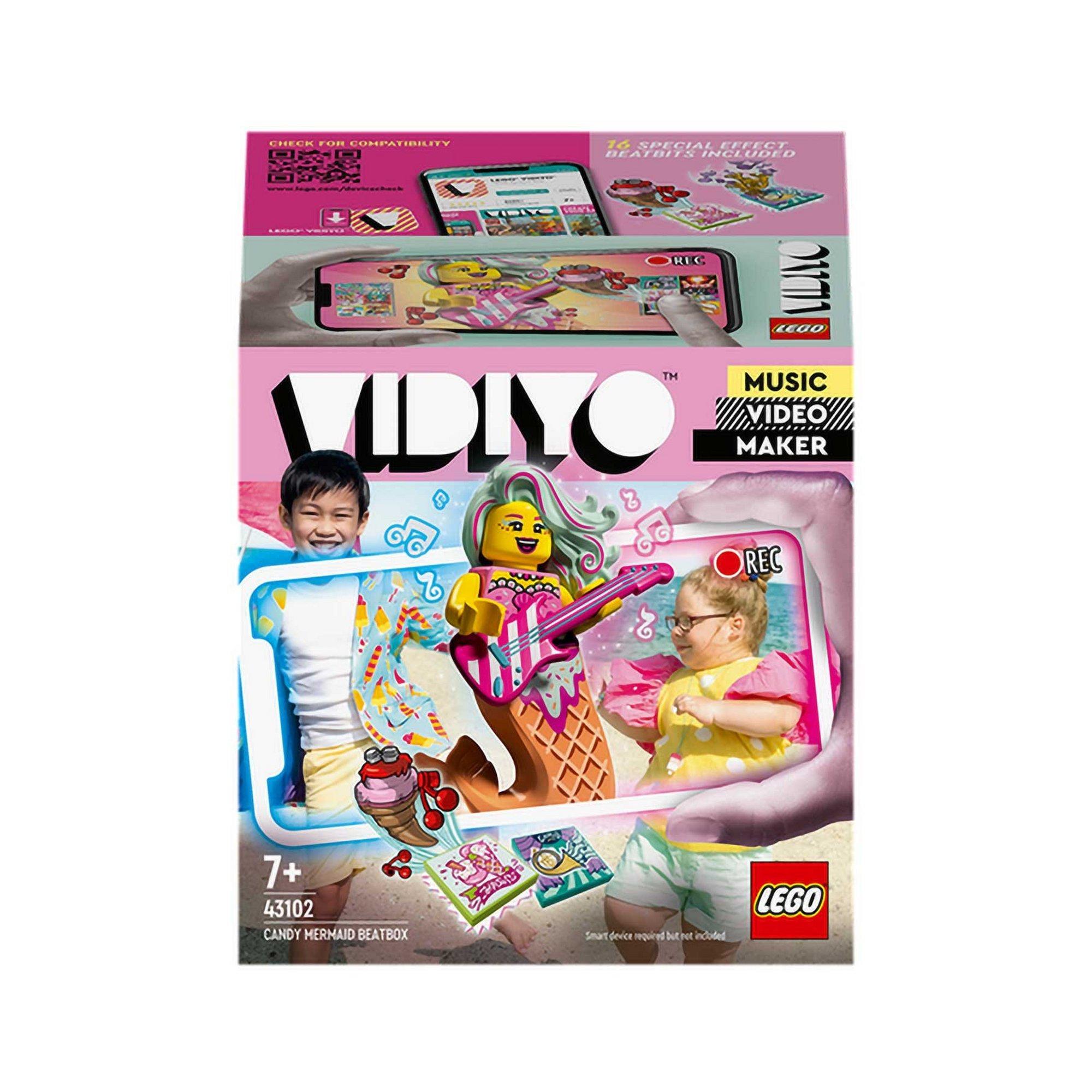 Image of LEGO VIDIYO Candy Mermaid BeatBox Music Set