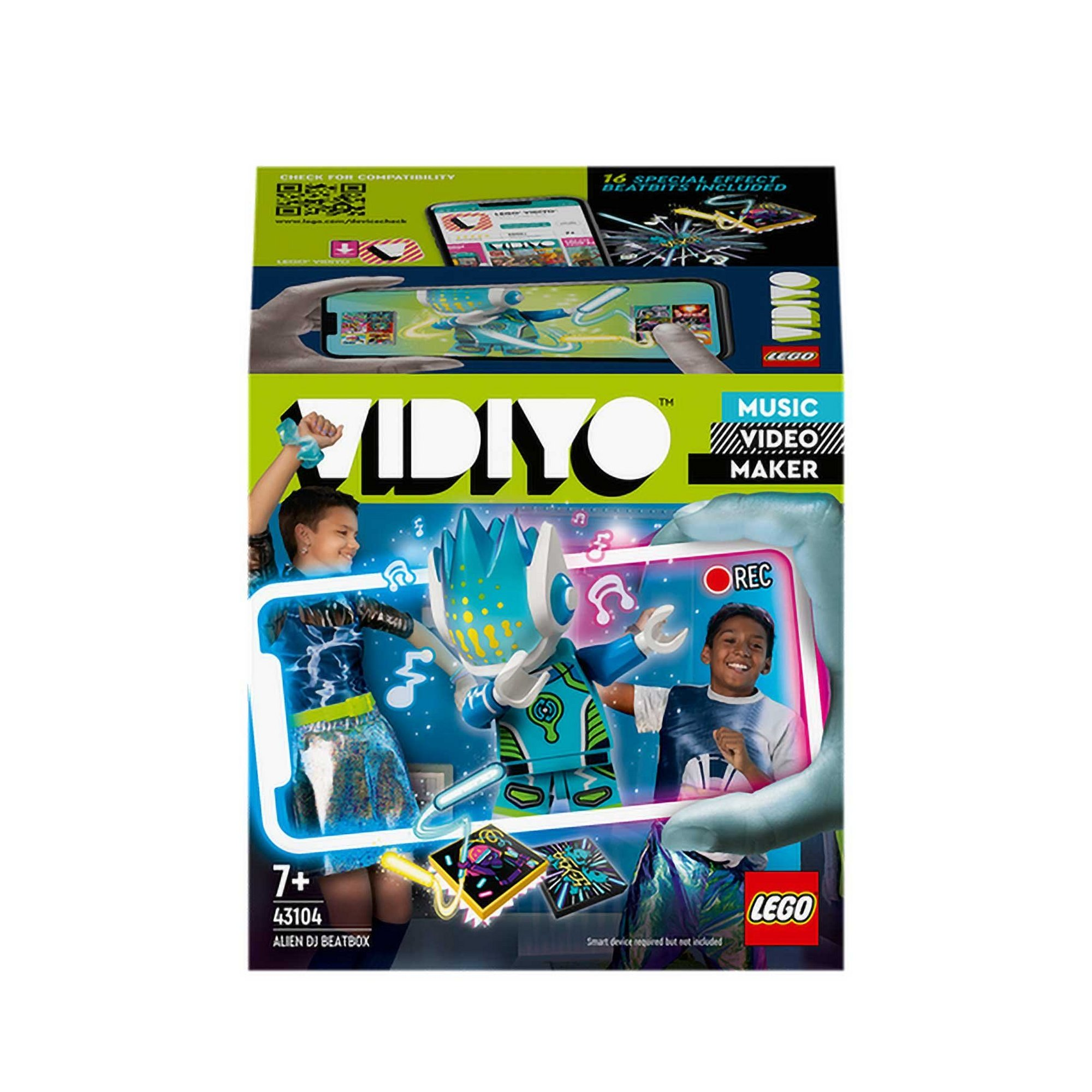 Image of LEGO VIDIYO Alien DJ BeatBox Music Set