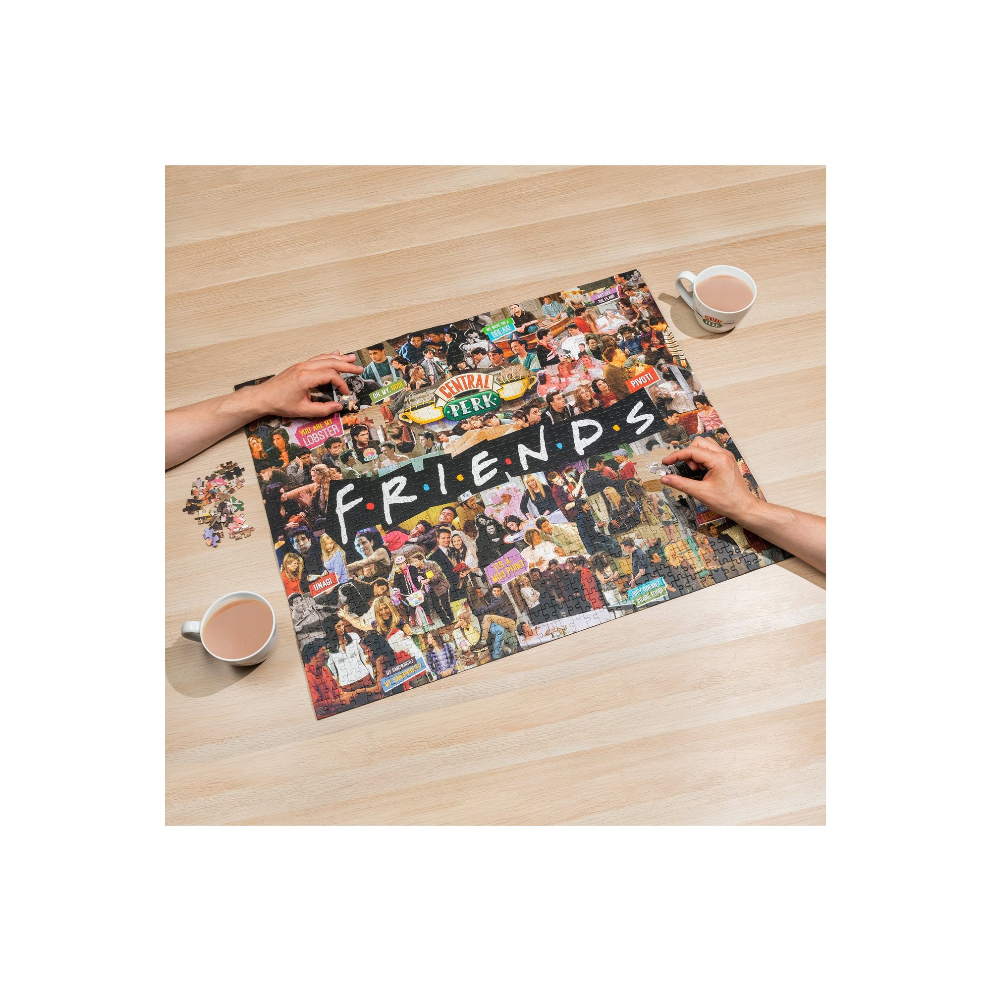 Image of Friends 1000 Piece Collage Jigsaw