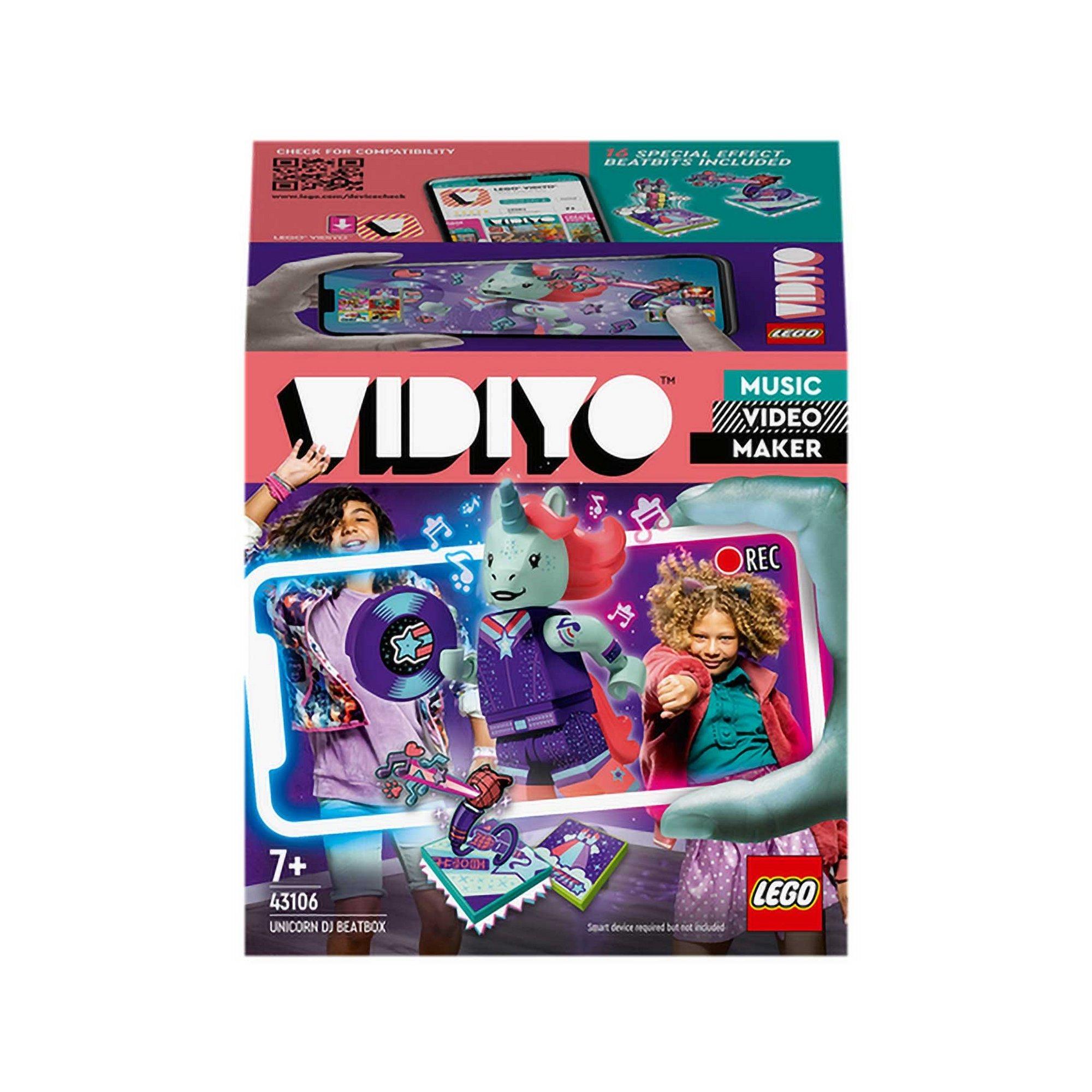 Image of LEGO VIDIYO Unicorn DJ BeatBox Music Set