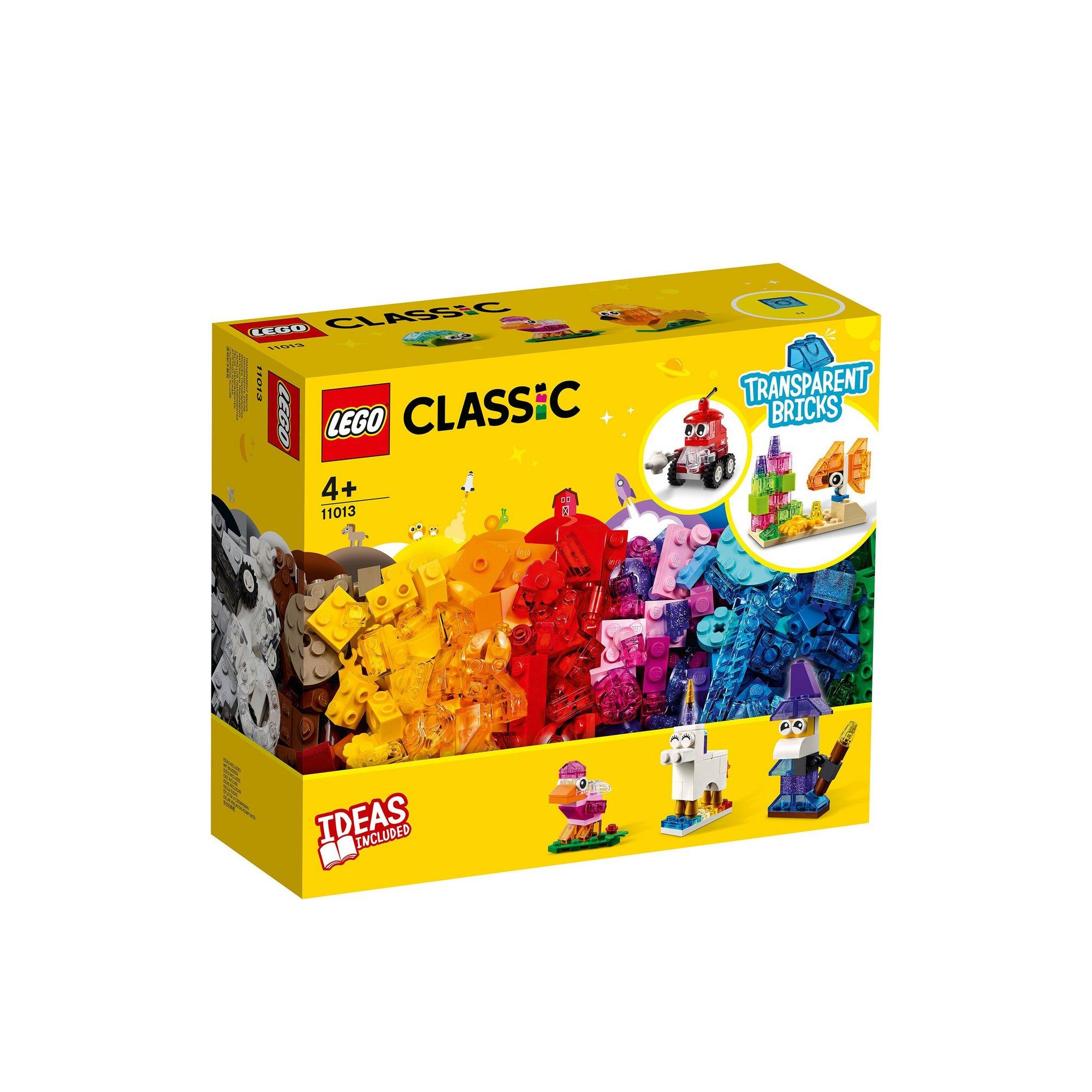 Image of LEGO Classic Creative Transparent Bricks