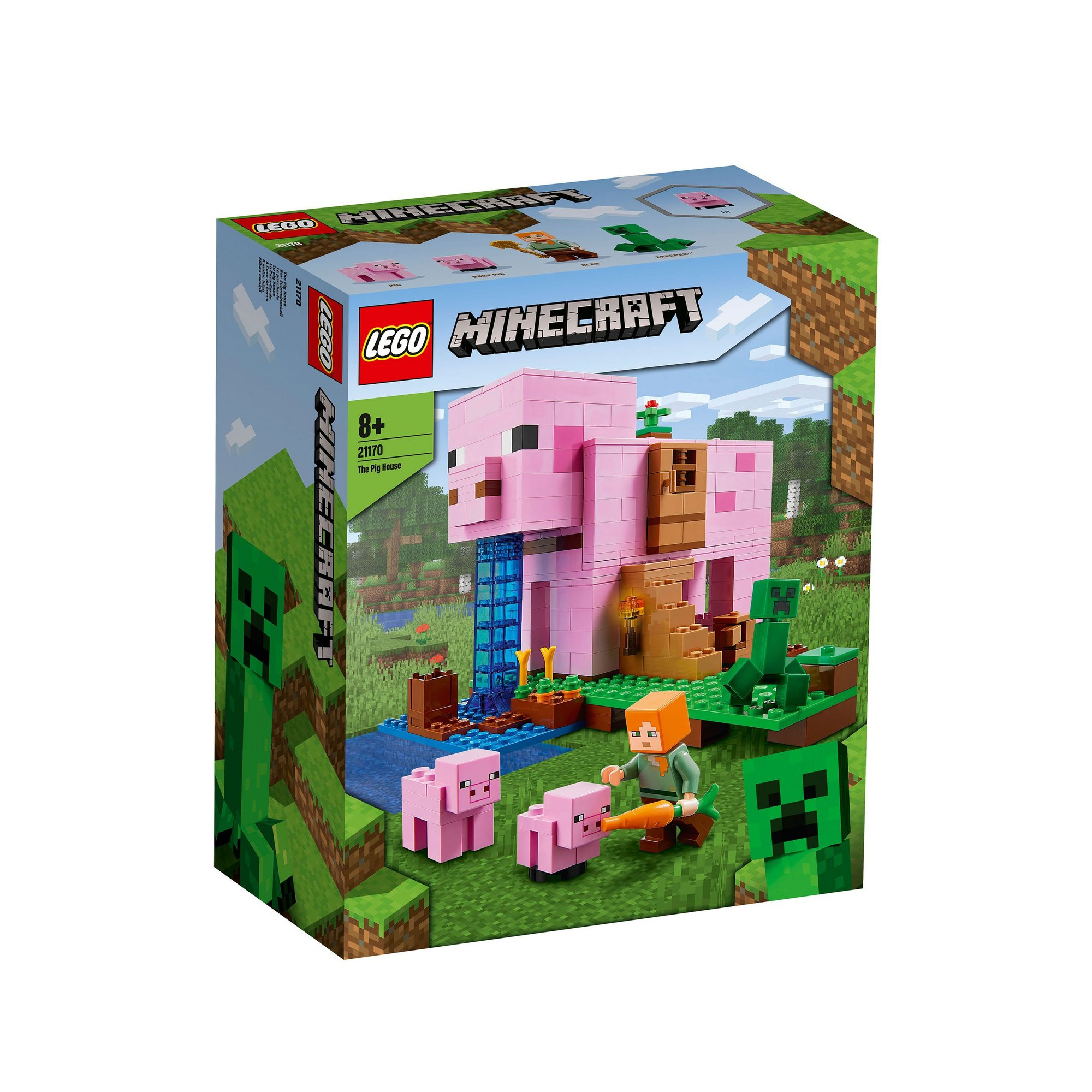 Image of LEGO Minecraft The Pig House