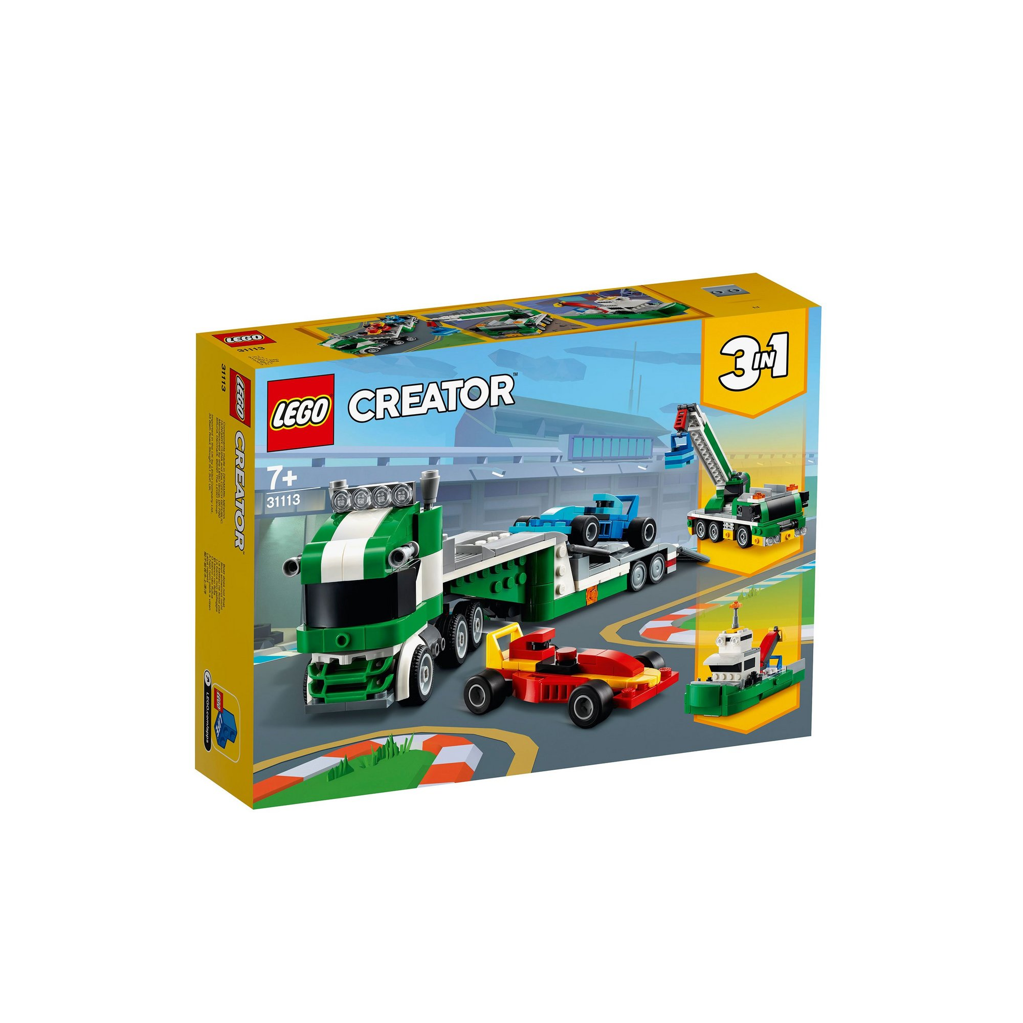 Image of LEGO Creator Race Car Transporter