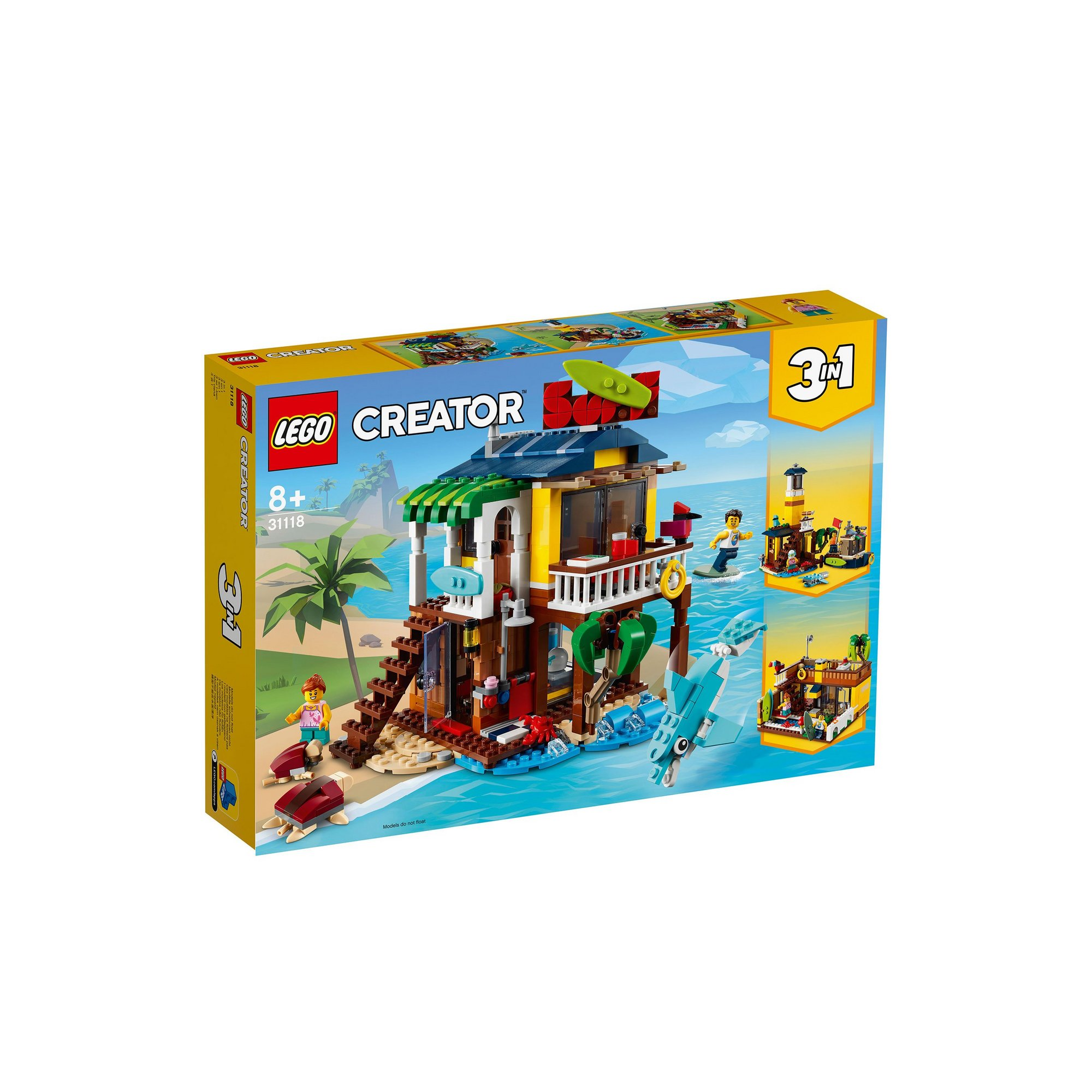 Image of LEGO Creator Surfer Beach House