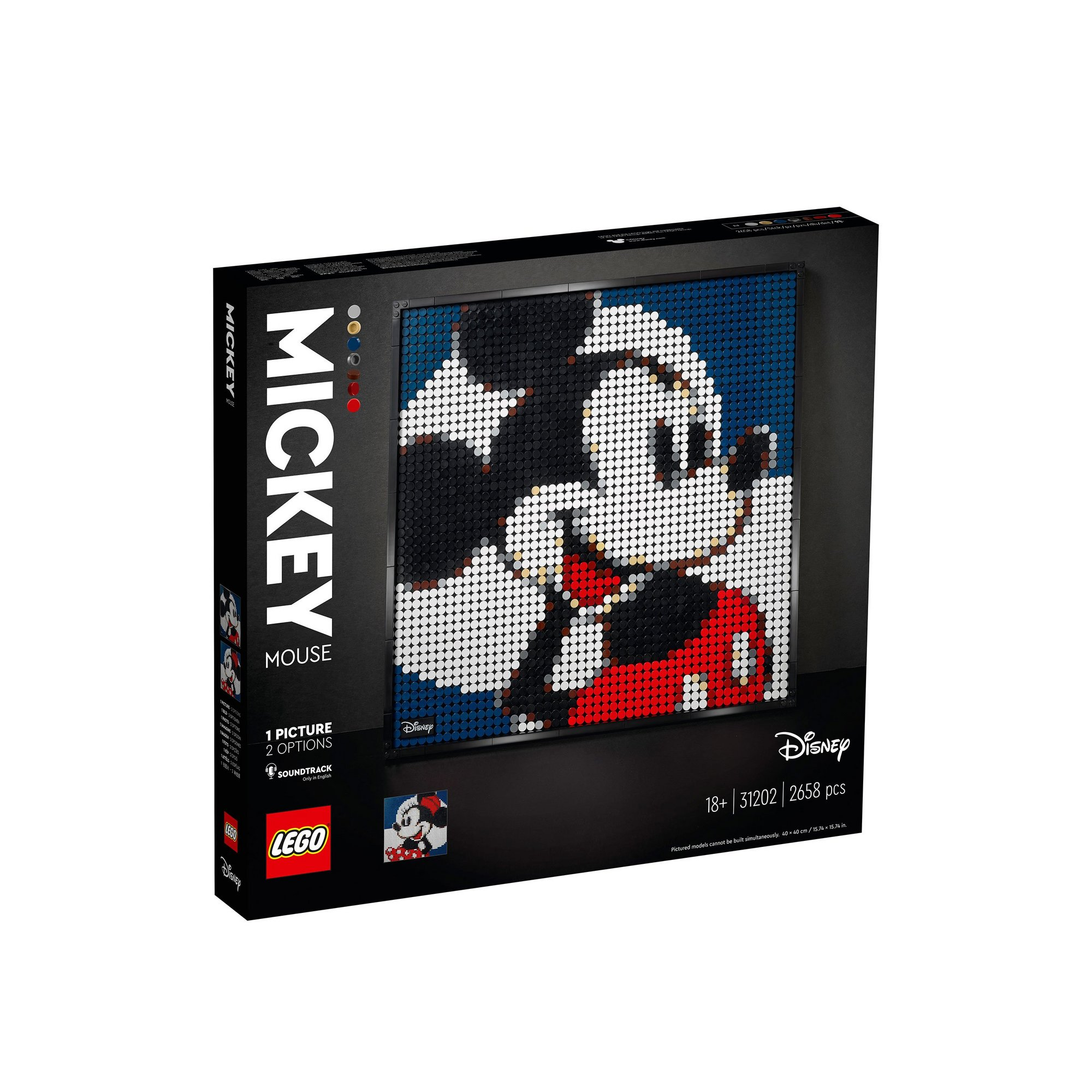 Image of LEGO Art Disneys Mickey Mouse
