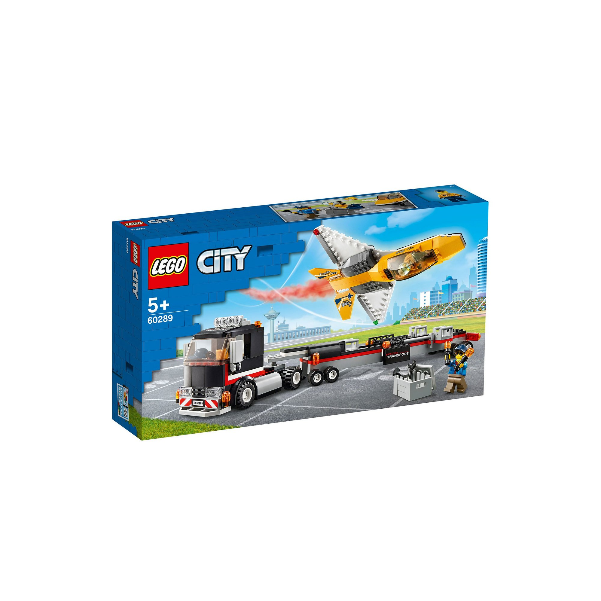 Image of LEGO City Great Vehicles Air show Jet Transporter