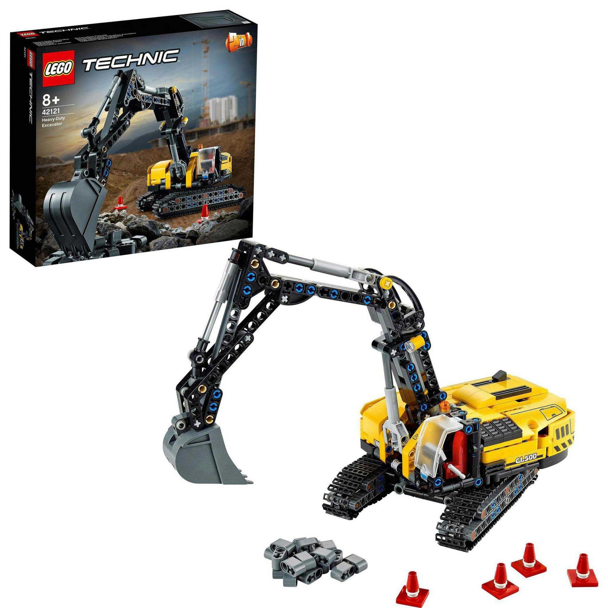 Image of LEGO Technic Heavy-Duty Excavator Building Set