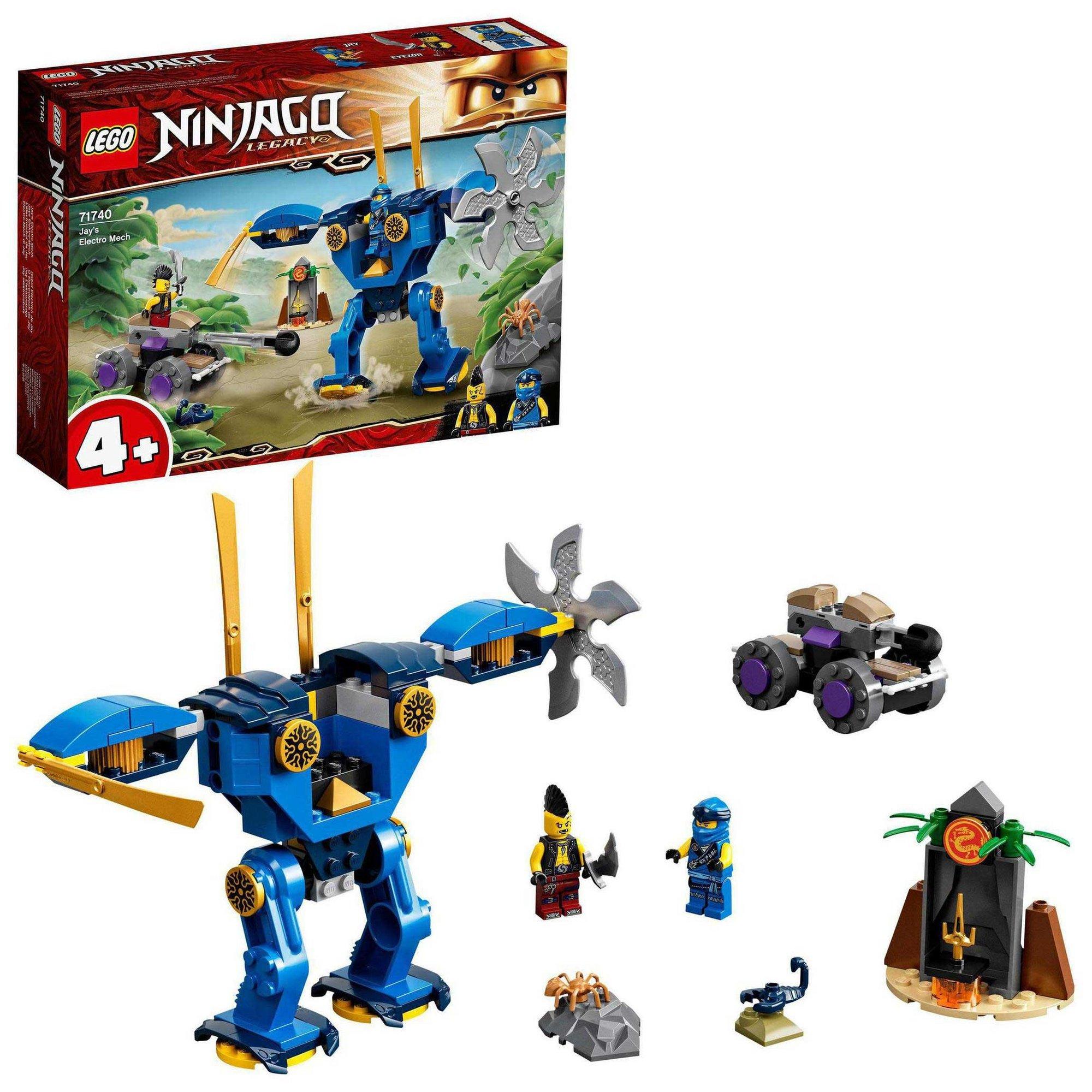 Image of LEGO Ninjago Legacy Jays Electro Mech Toy