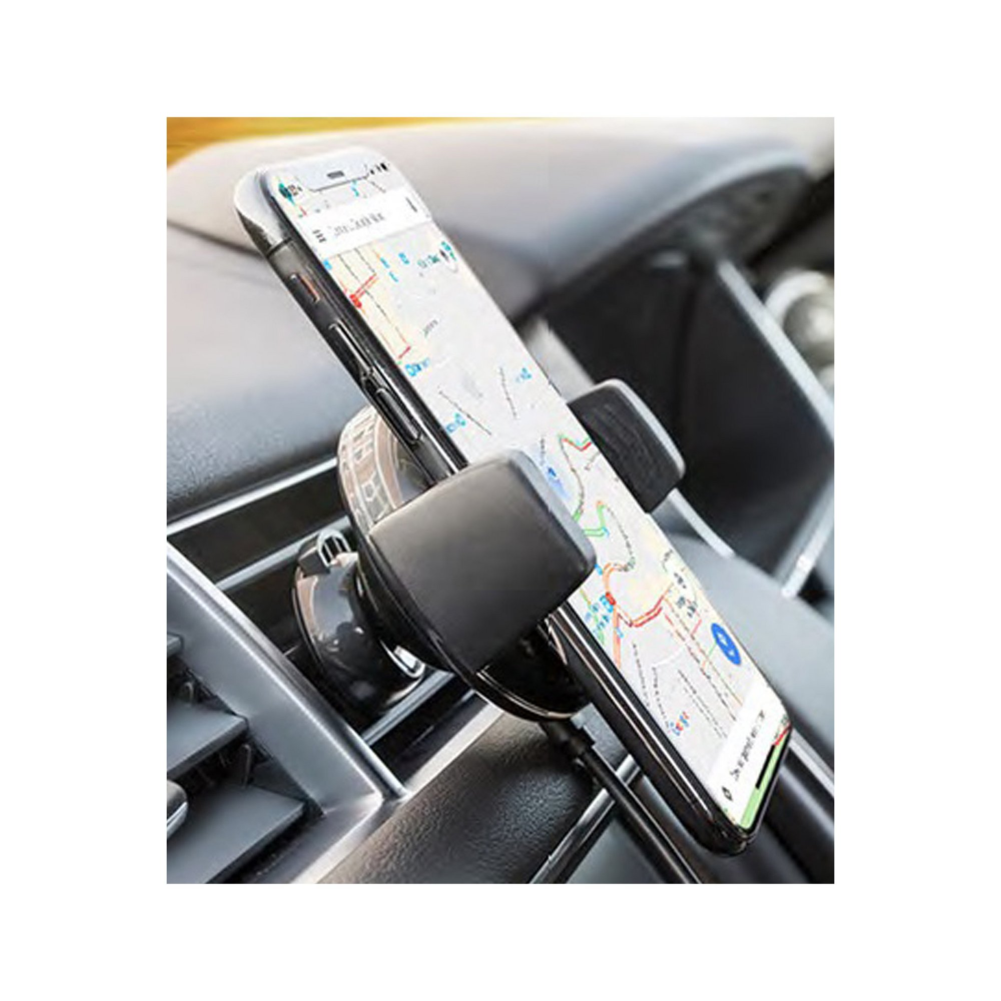 Image of Intempo 5W Wireless In-Car Phone Charger
