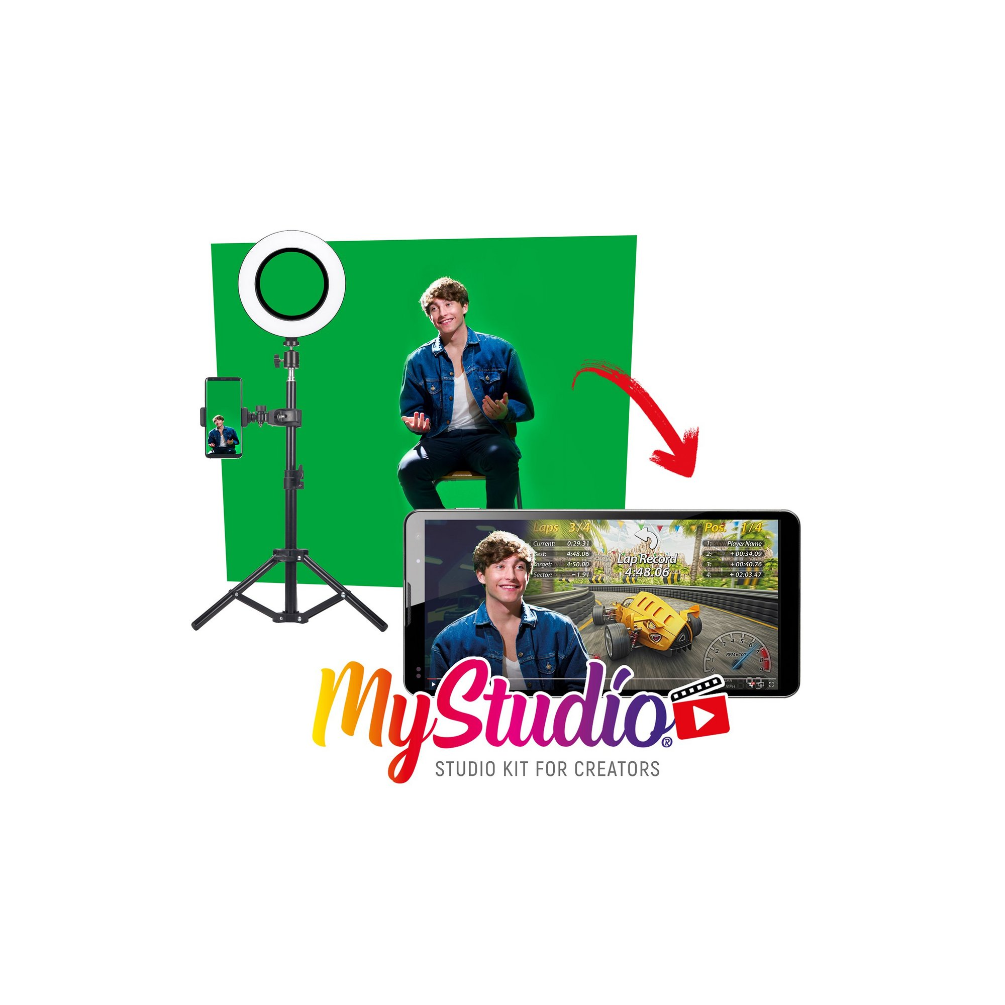 Image of MyStudio Video Shooting Studio Kit