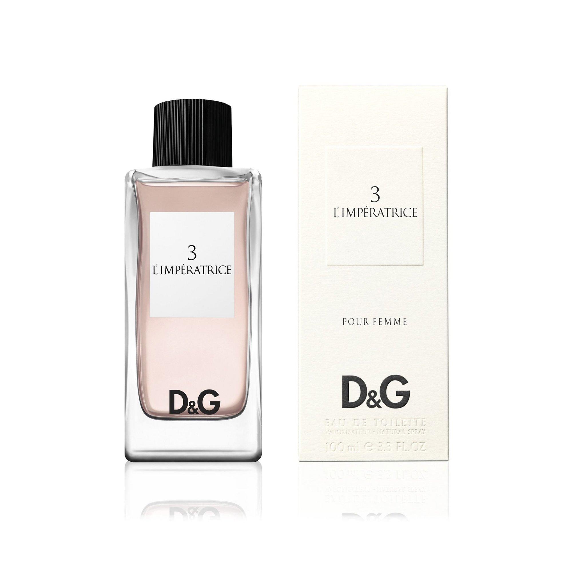 Image of Dolce and Gabbana 3 L Imperatrice 100ml Eau De Toilette