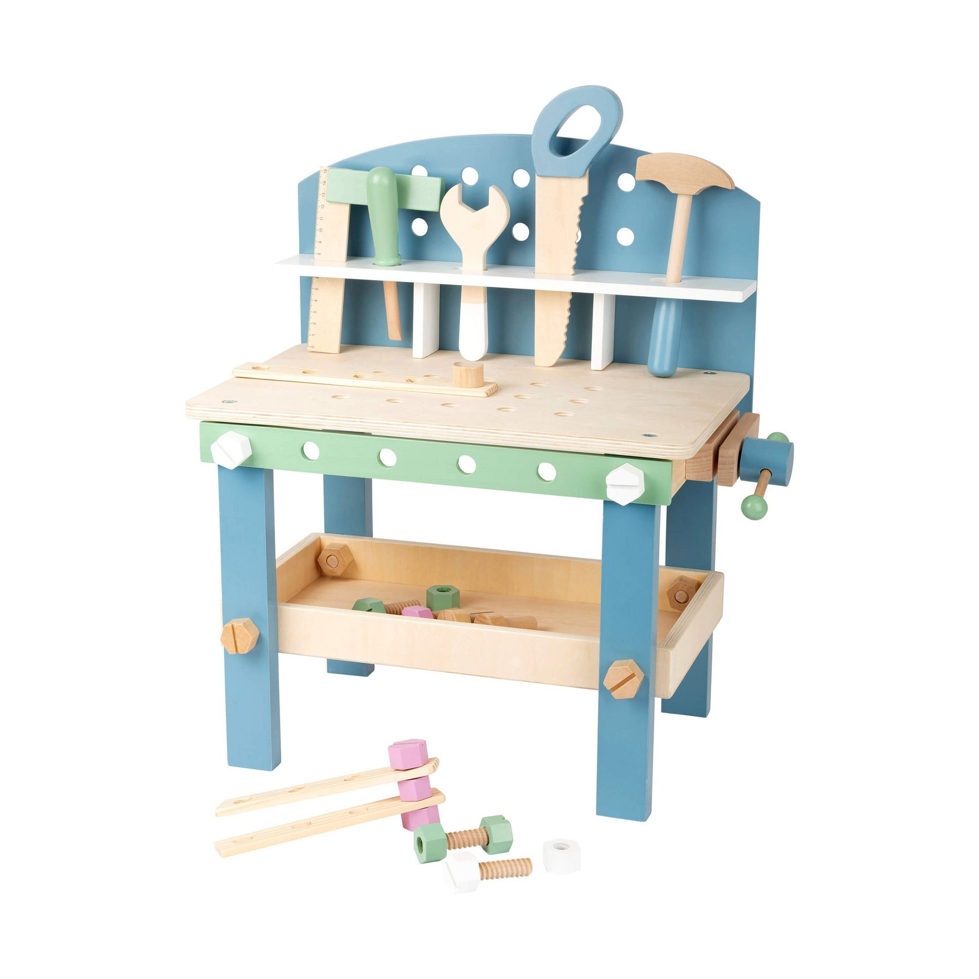 Image of LEGLER Small Foot Childrens Nordic Workbench Compact Play Set