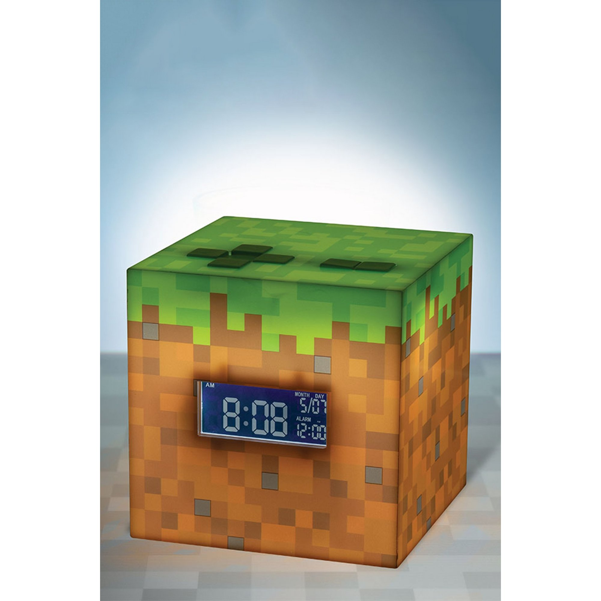 Image of Minecraft Alarm Clock