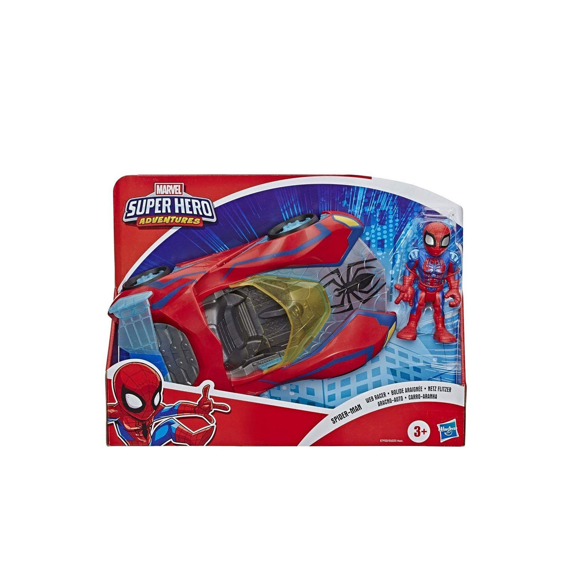 Image of Spider-Man Web Racer Playskool Heroes Marvel Super Hero Adventures