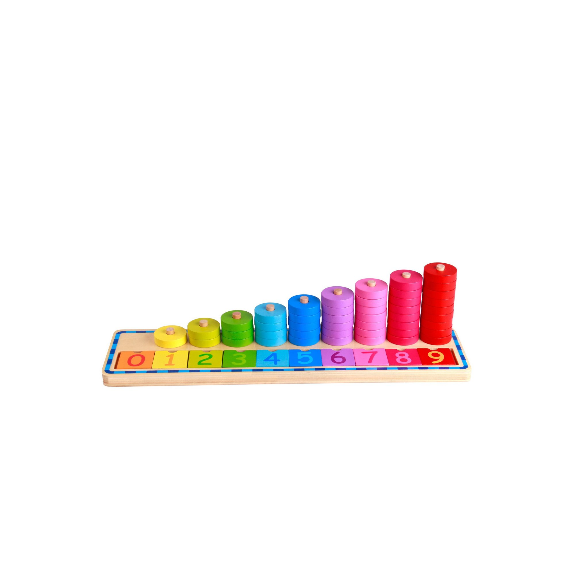 Image of Wooden Counting Stacker