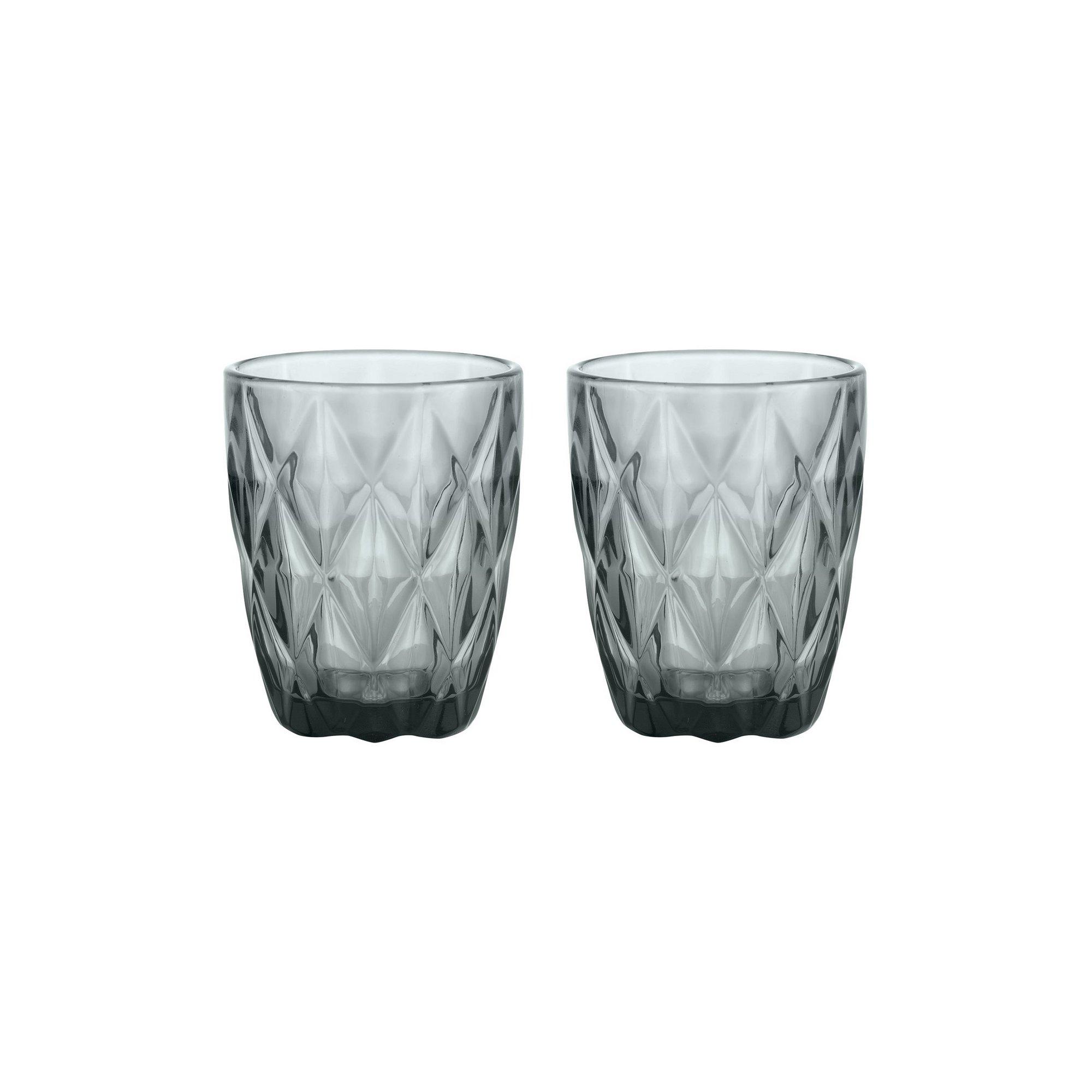 GemStone Set of 2 Mixer Glasses