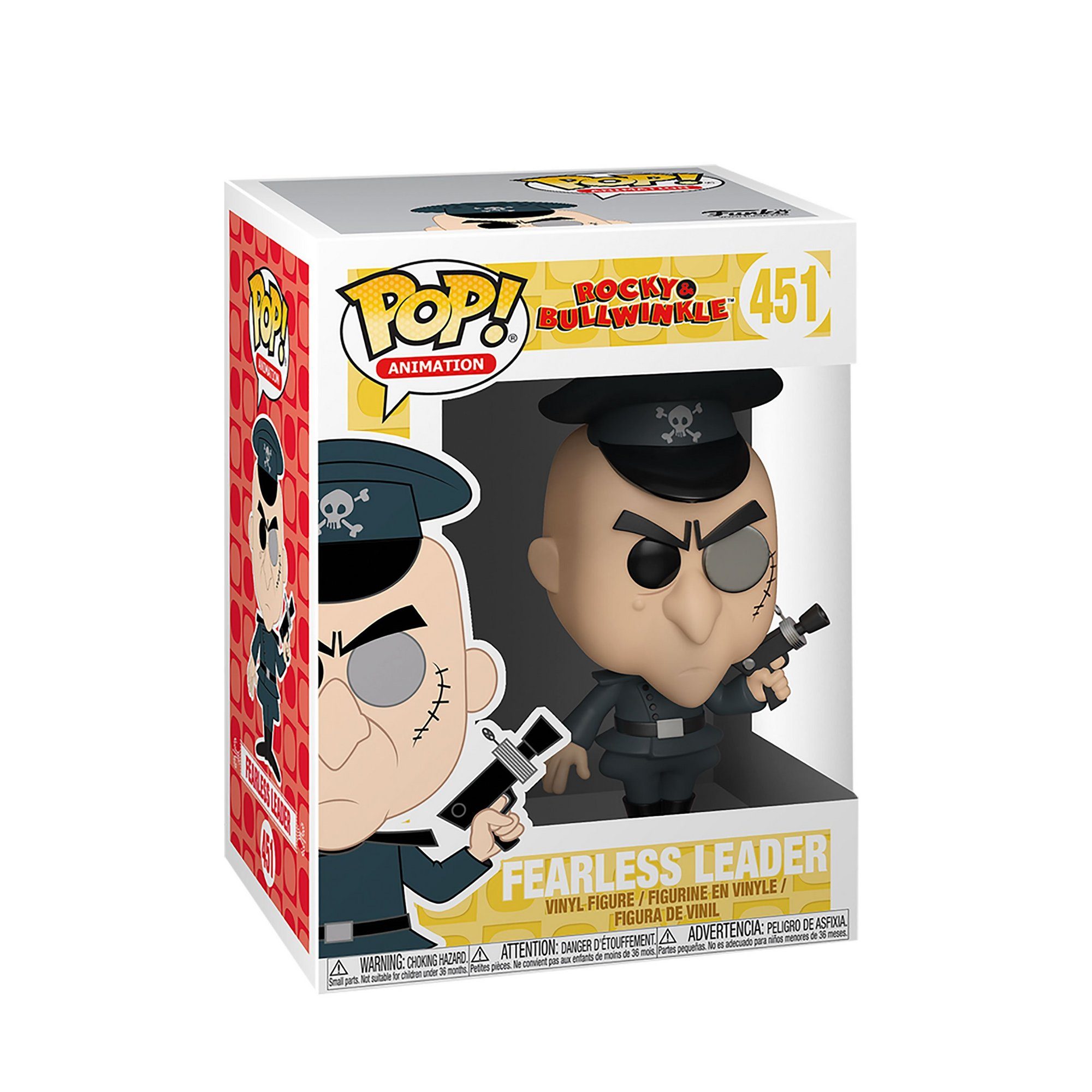 Image of Funko POP! Rocky and Bullwinkle - Fearless Leader Figure