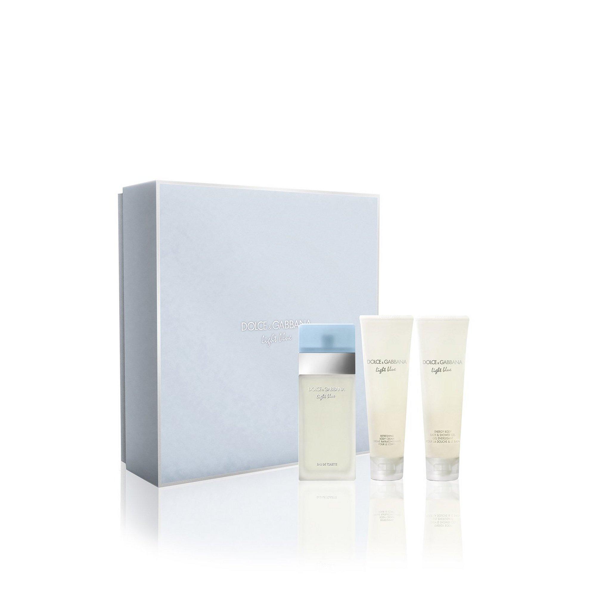 Image of Dolce and Gabbana Light Blue 50ml EDT Gift Set