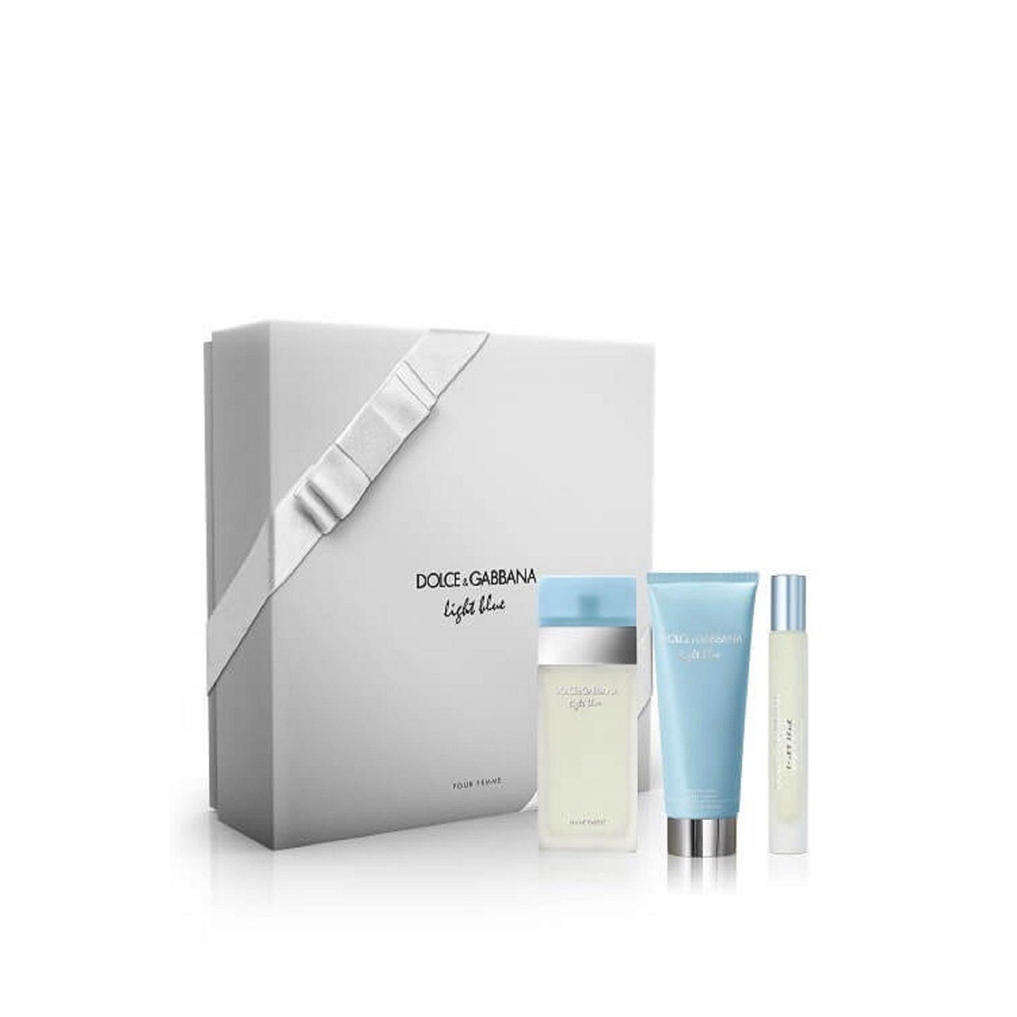 Image of Dolce and Gabbana Light Blue 50ml Eau De Toilette Gift Set