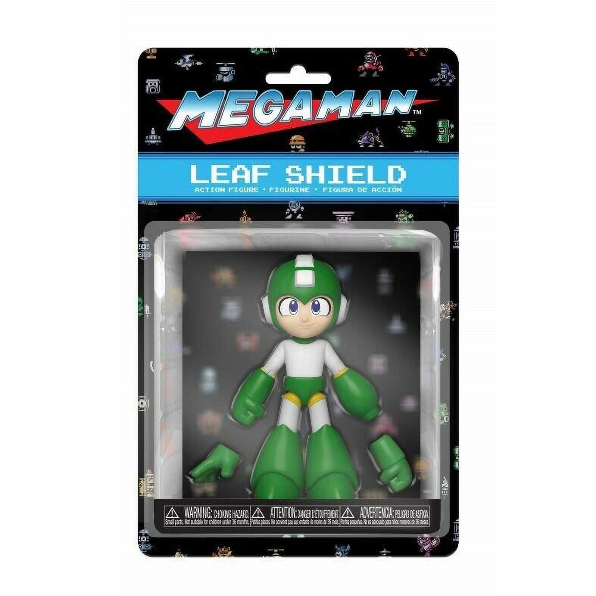 Image of Funko POP! Mega Man Leaf Shield Action Figure