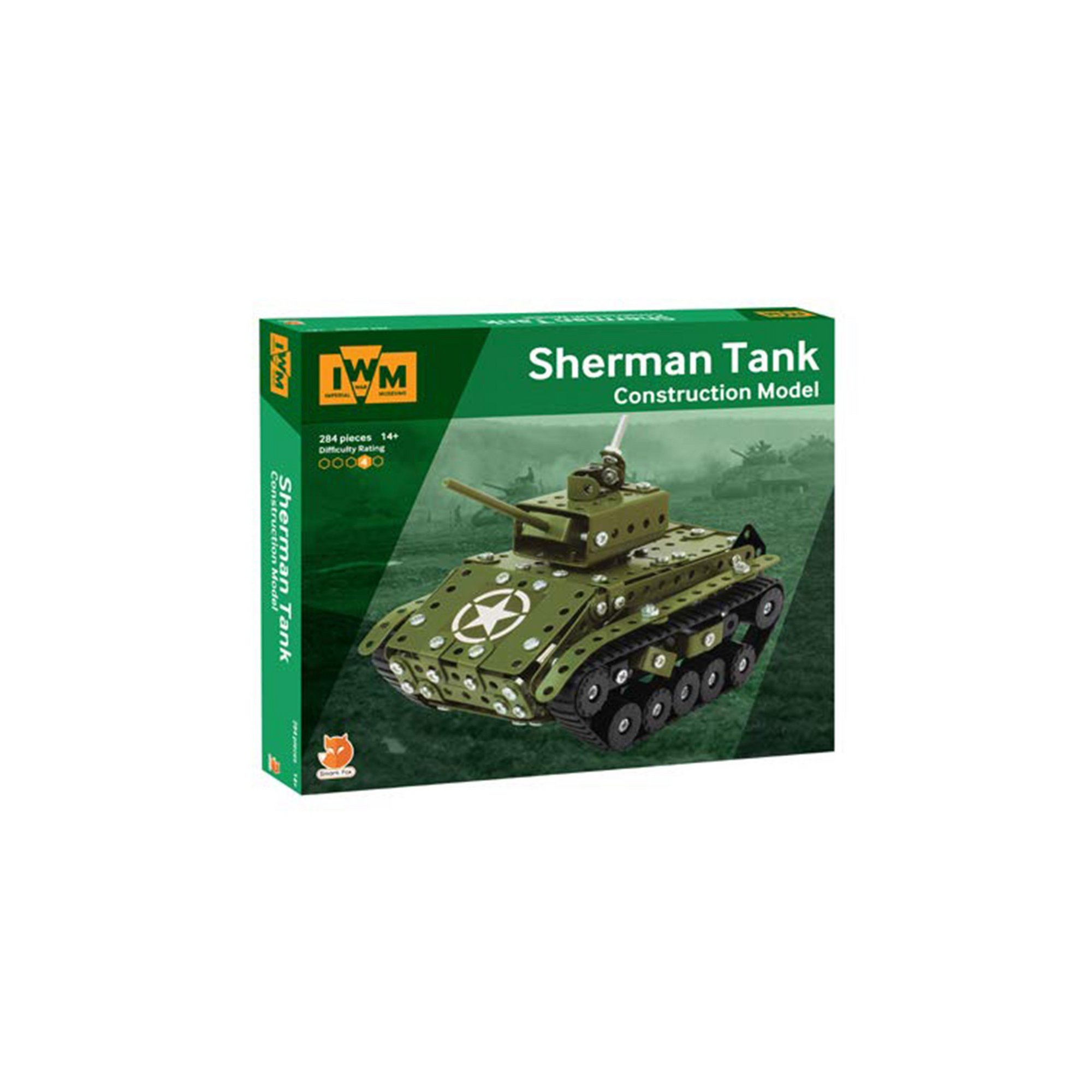 Image of Sherman Tank Imperial War Museums Construction Set