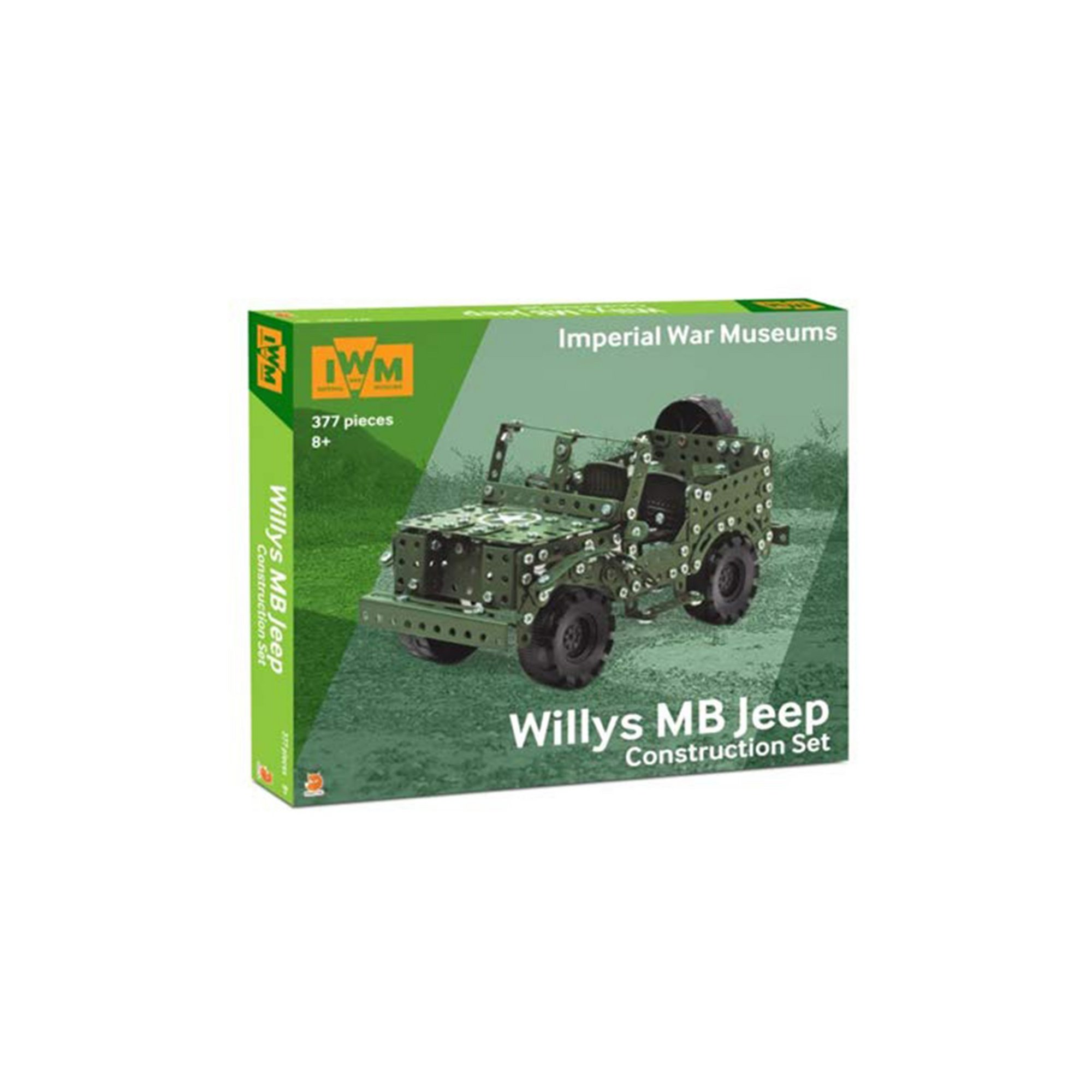 Image of Willys MB Jeep Imperial War Museums Construction Set