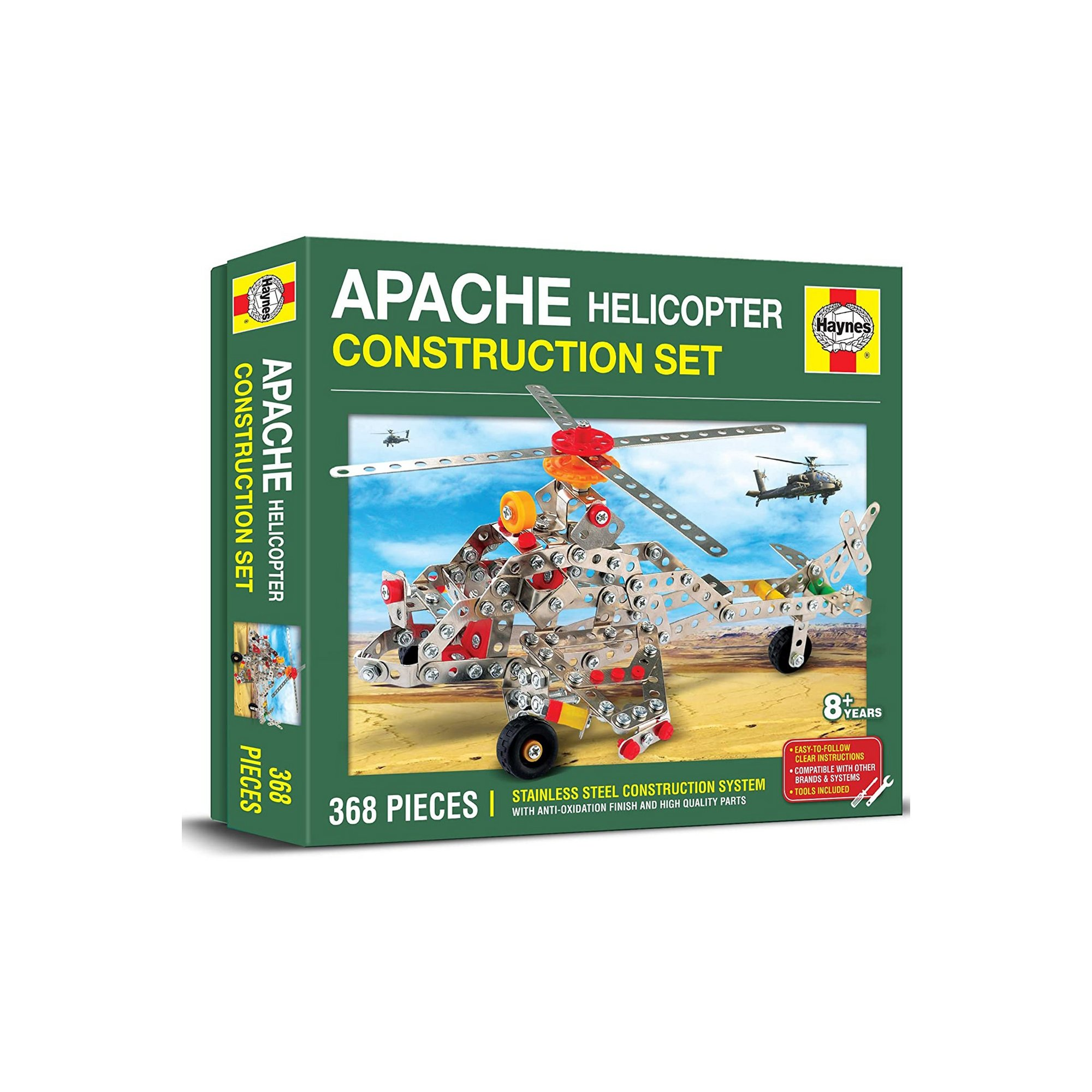 Image of Haynes Apache Helicopter Construction Set