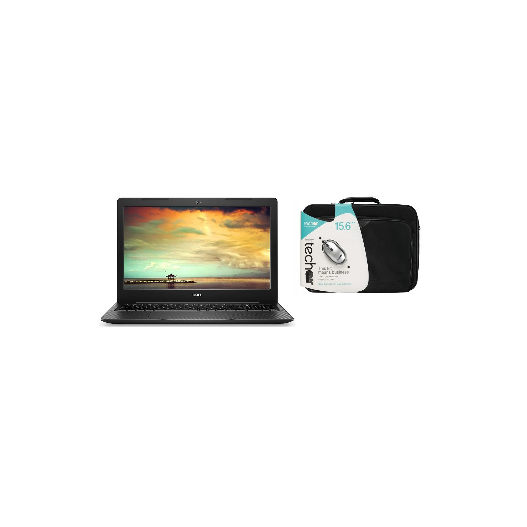 Image of Dell Inspiron 15 3000 15 Inch 4GB&#44 128GB Win 10 Laptop and Cas...