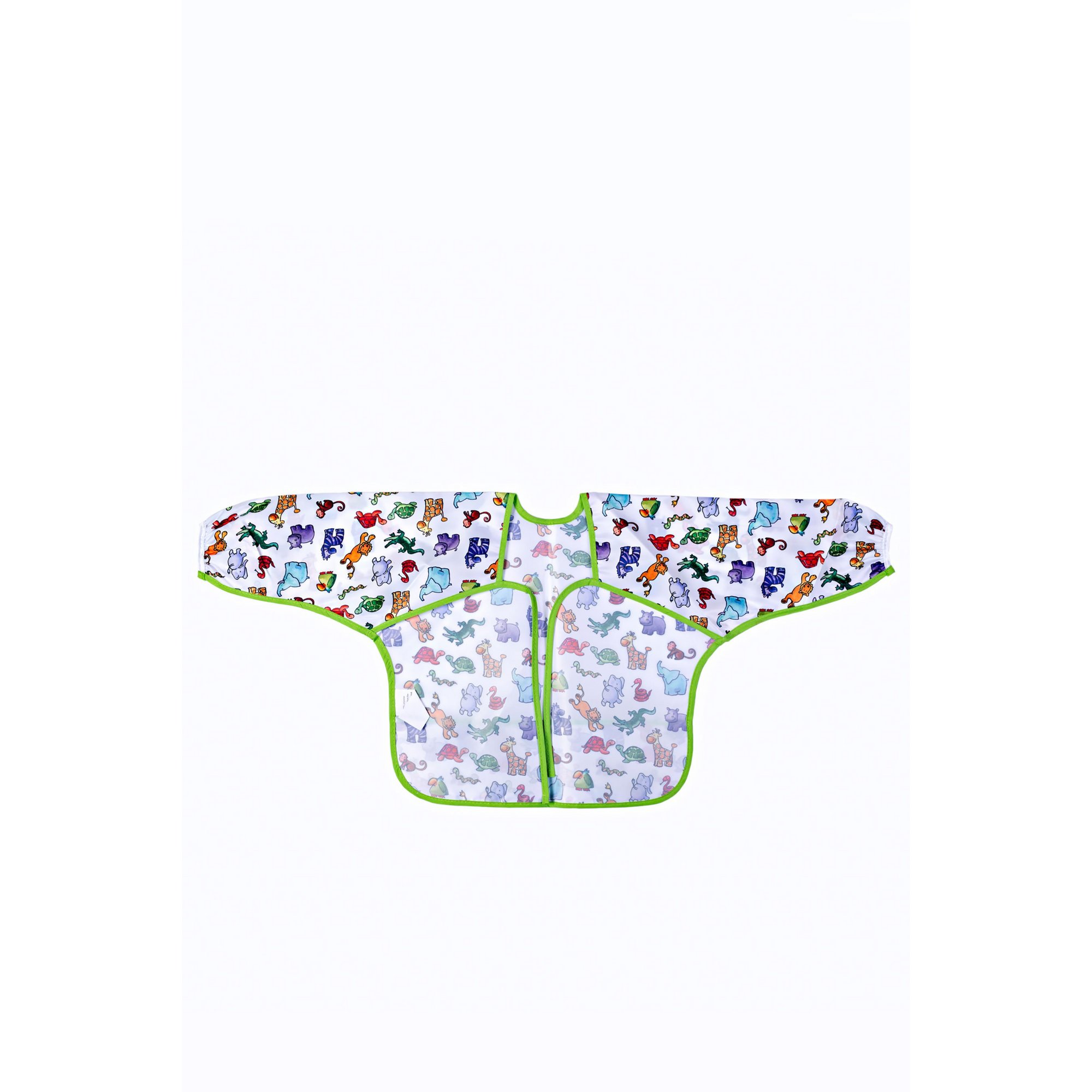 Image of Jungle Friends Sleeved Bib by Martin Gulliver