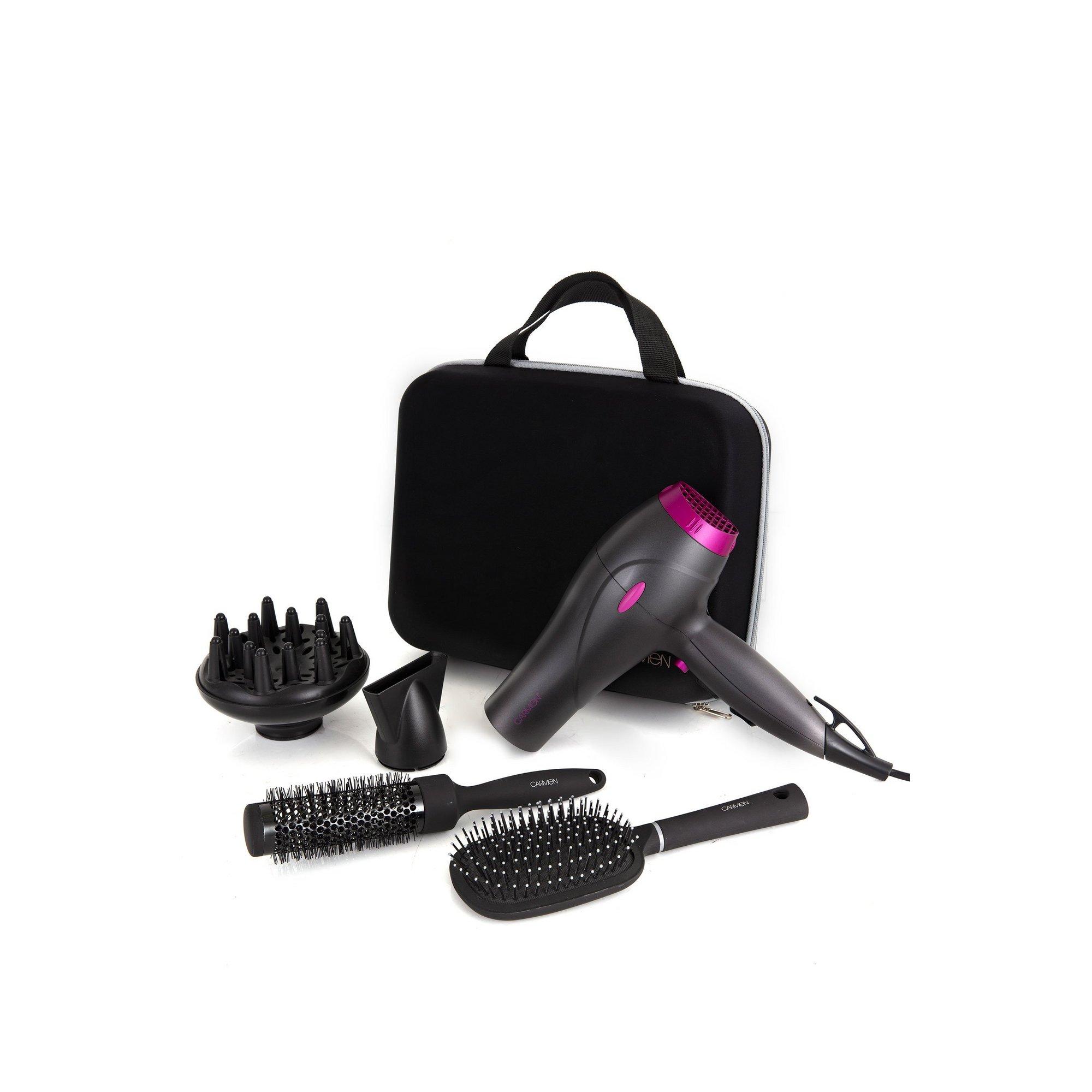 Image of Carmen Neon 2200W Hair Dryer Set