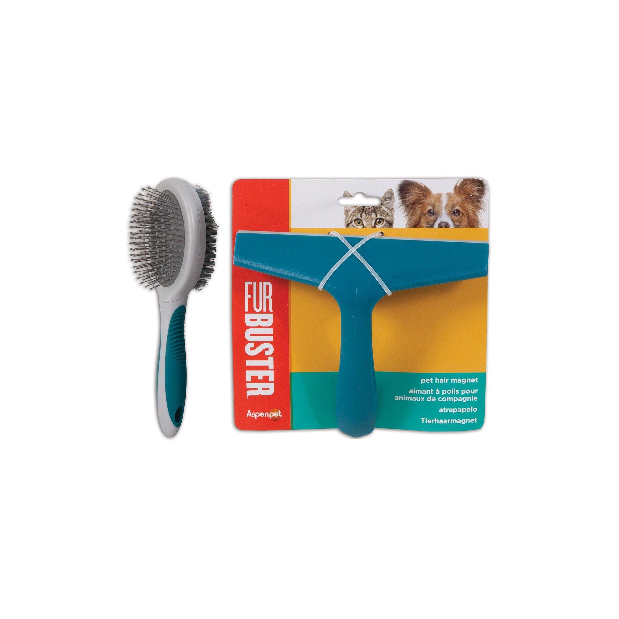 Image of Furbuster Pin/Bristle Brush and Pet Hair Magnet