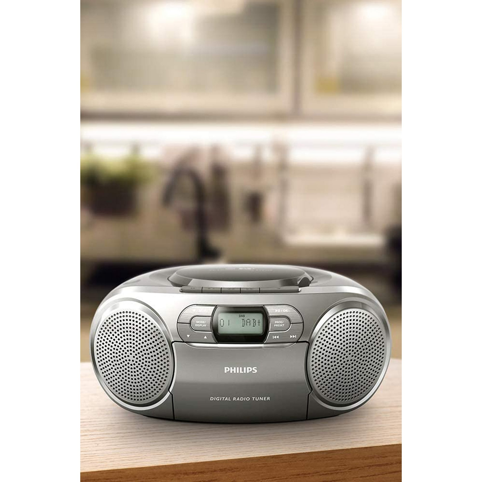 Image of Philips AZB600 CD Sound machine with Dynamic Bass Boost and DAB+