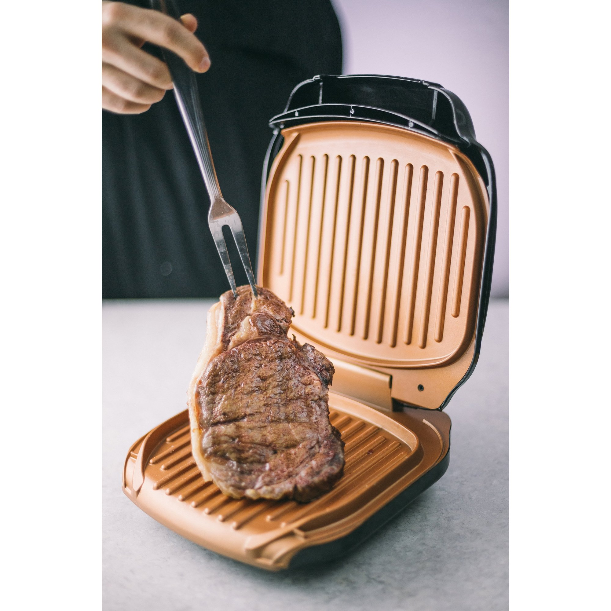 Image of Gotham Steel Low Fat Health Grill