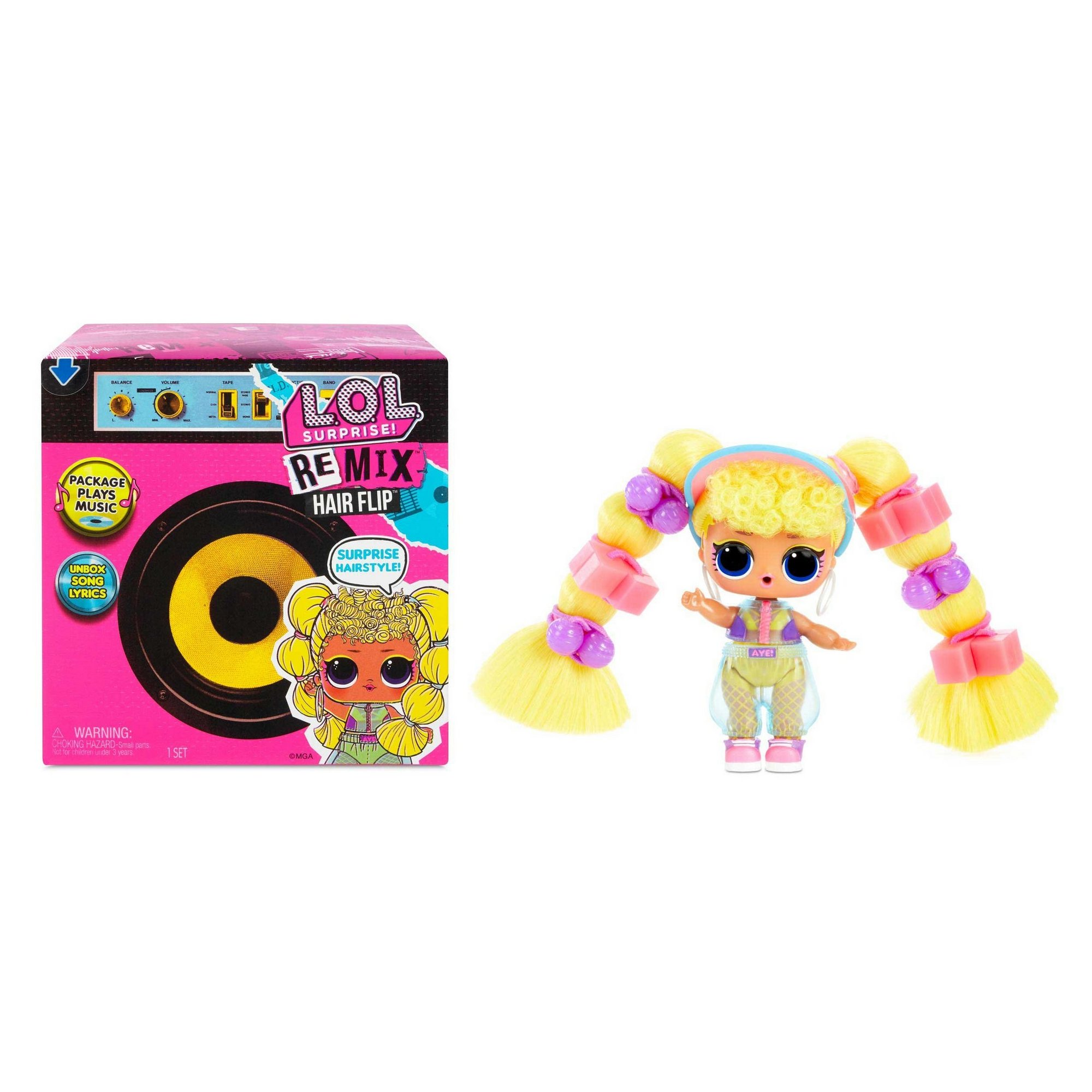 Image of L.O.L. SurpriseAssorted Remix Hairflip Tots