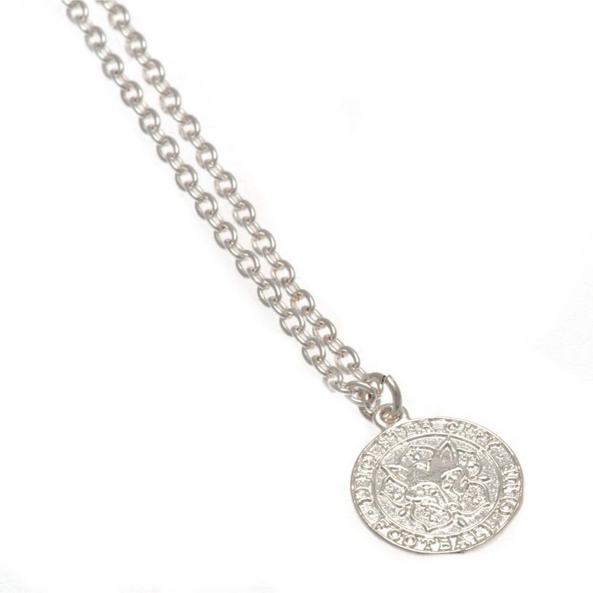 Image of Leicester City FC Silver Plated Crest Pendant