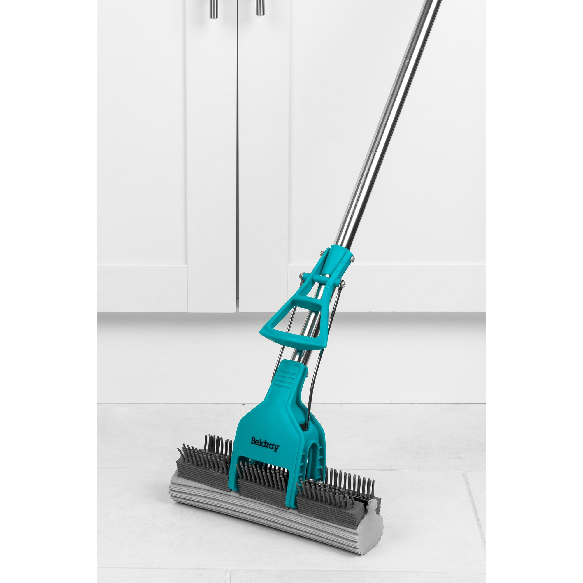 Image of Beldray Pet Plus+ Slimline PVA Mop and Brush with Telescopic Handle