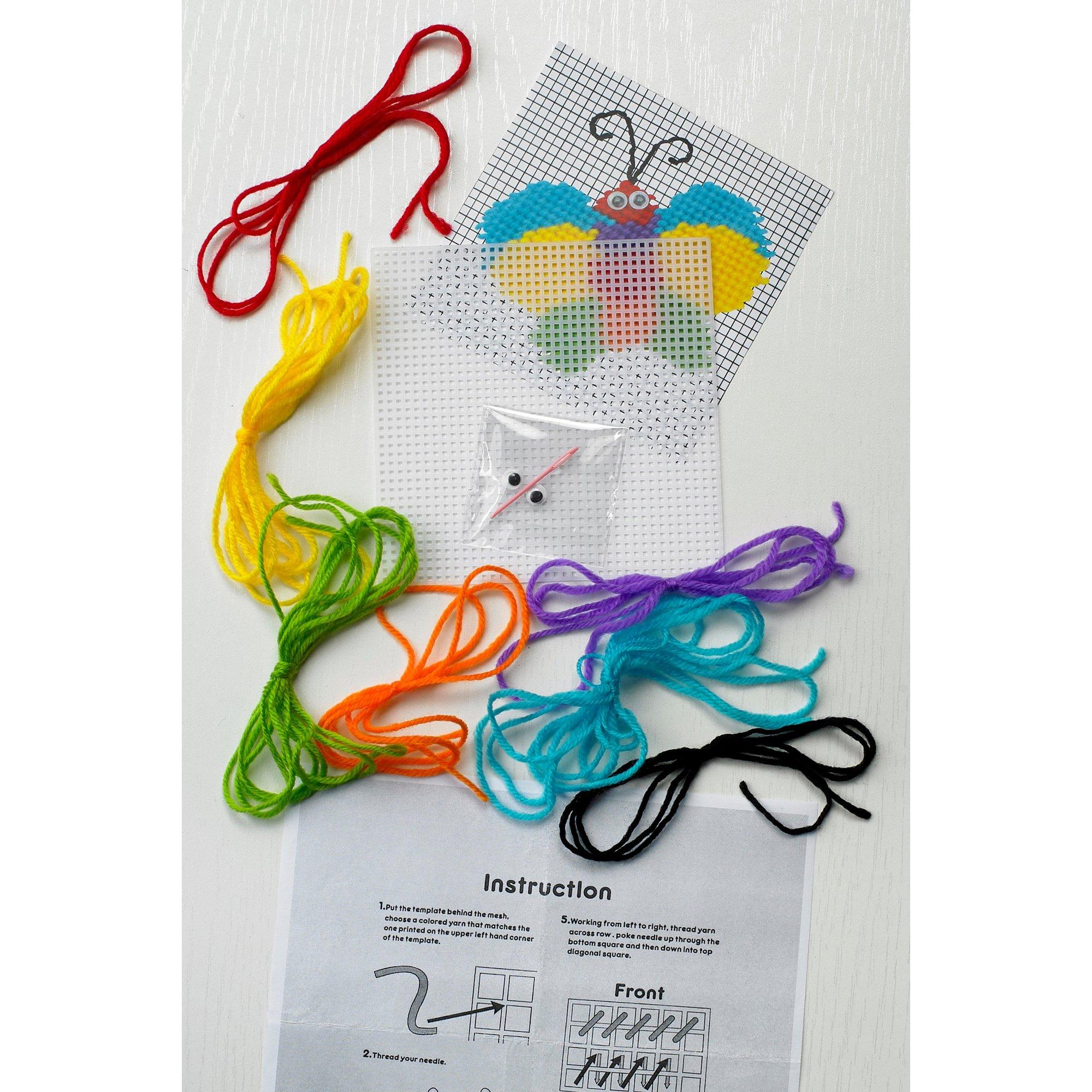 Image of Butterfly Cross Stitch Kit